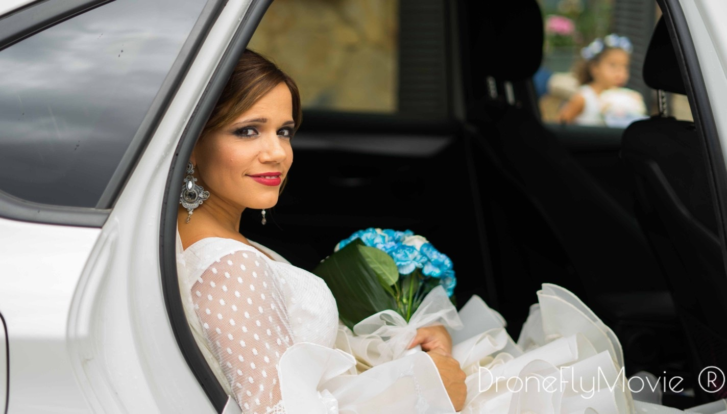 llegada de la novia by Drone fly movie