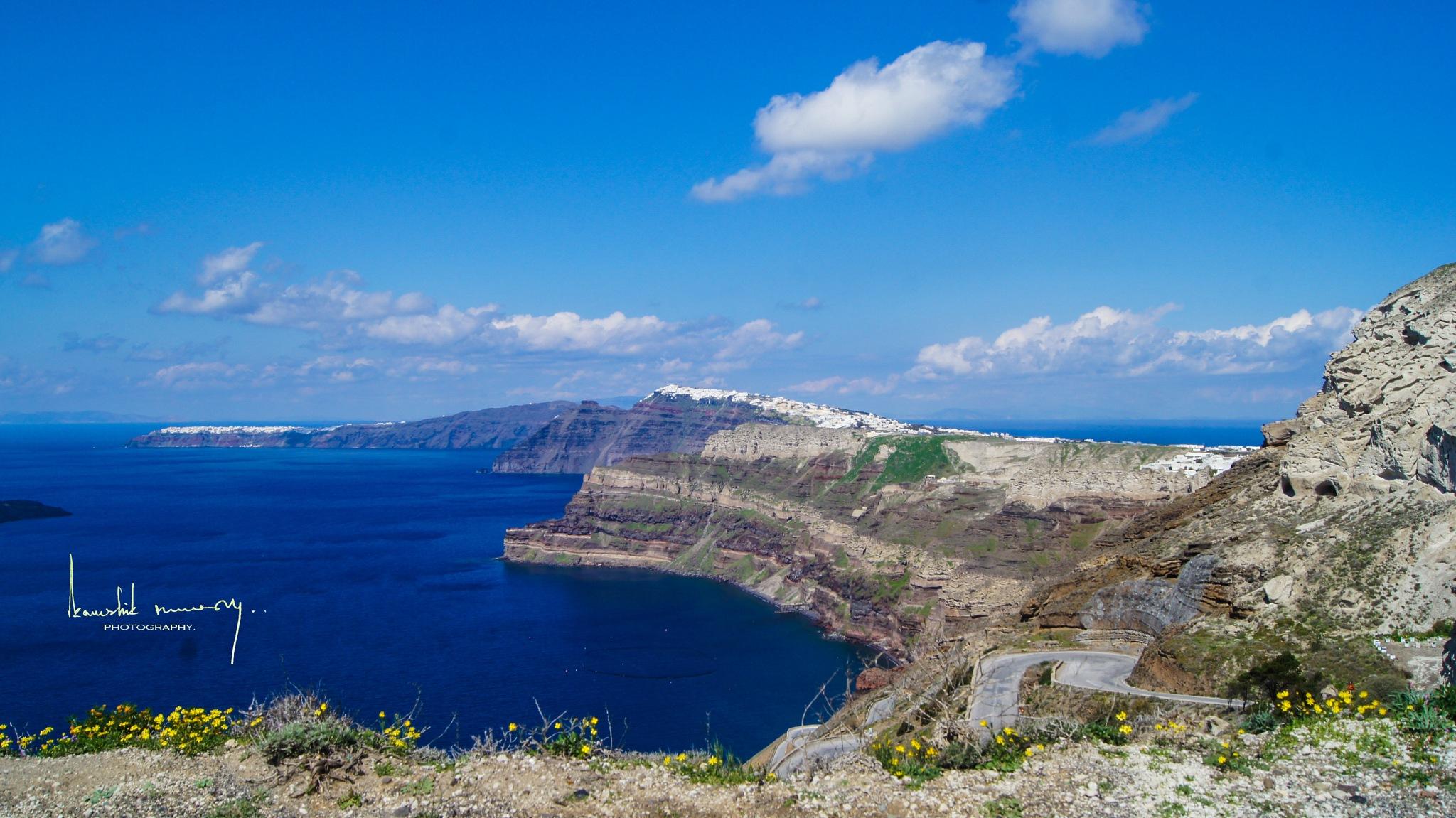 Aegean Beauty by Kaushik Nandy