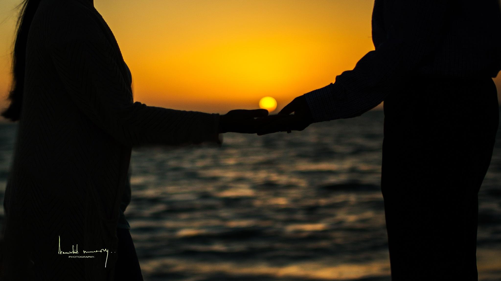 Hold My hand by Kaushik Nandy