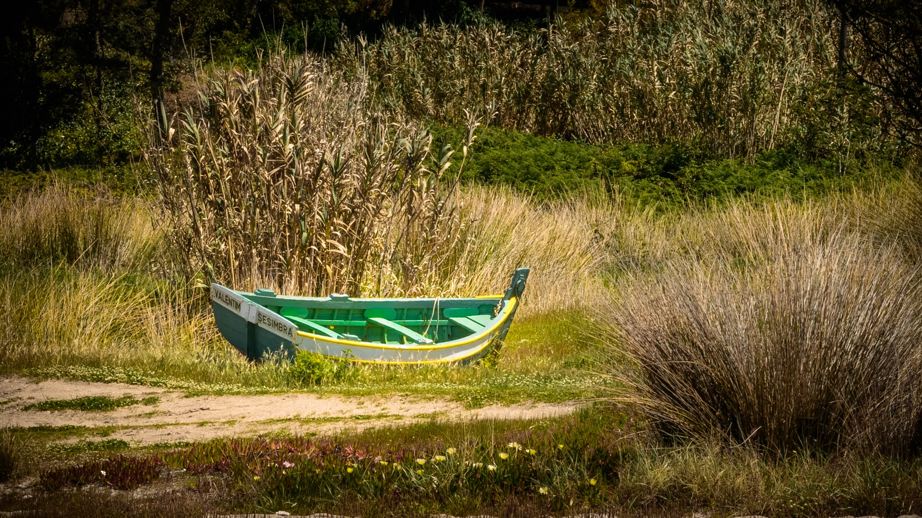 Barco Verde by Marcel Weichert