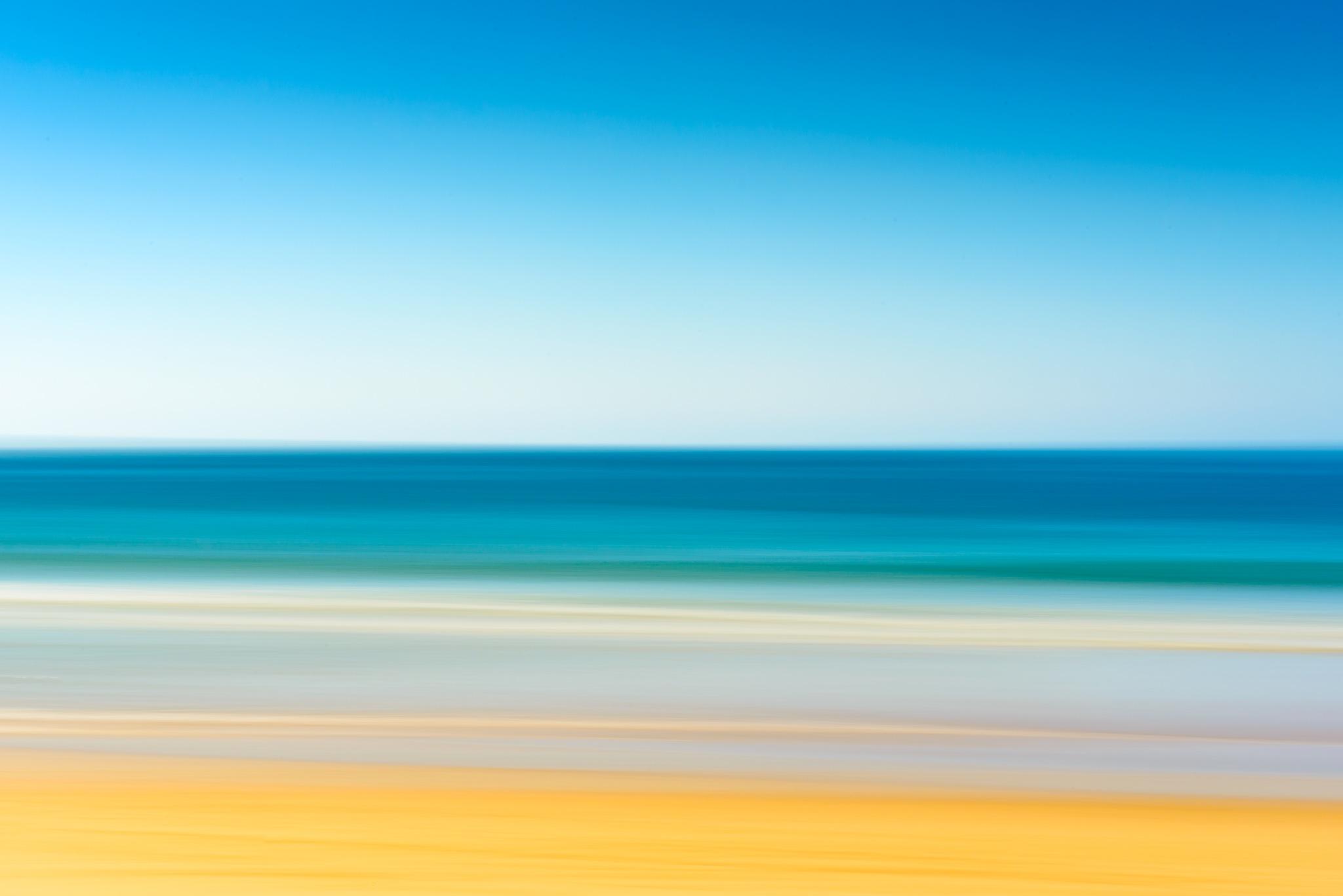 Just Sand Sea Sky by Marcel Weichert