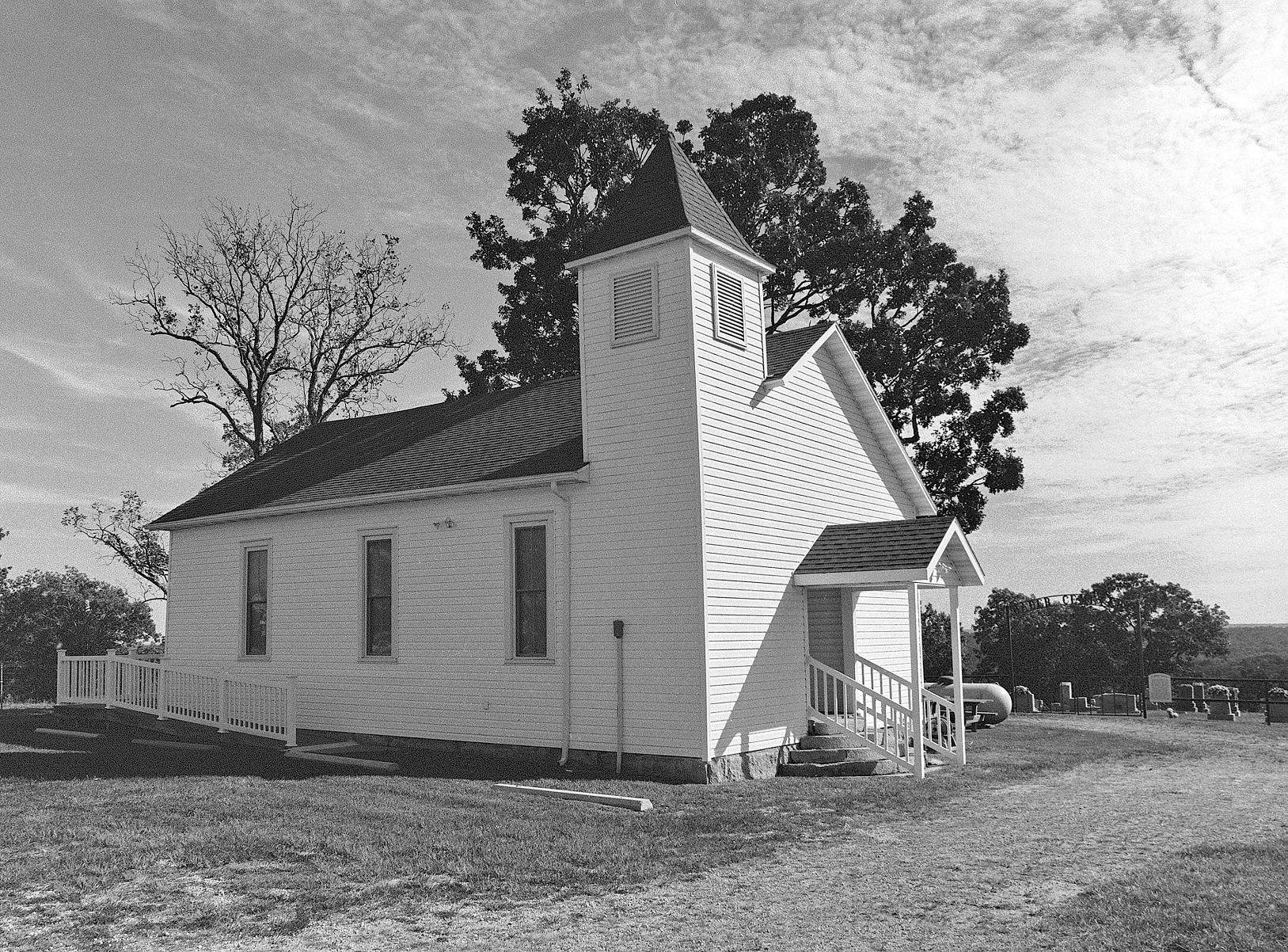 Rader Church by Tom Wicker