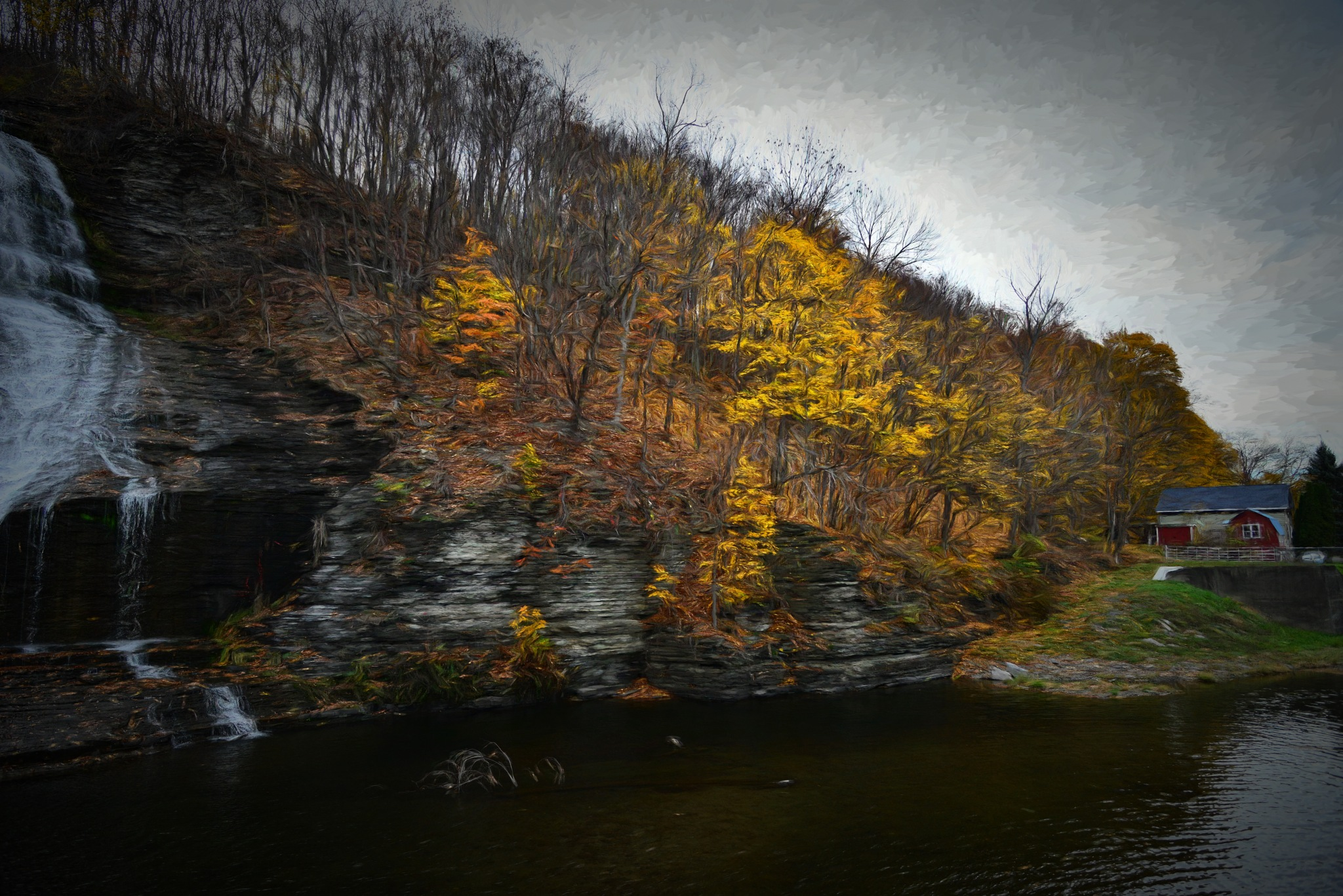 Late Fall by Dr Martin Wenzel