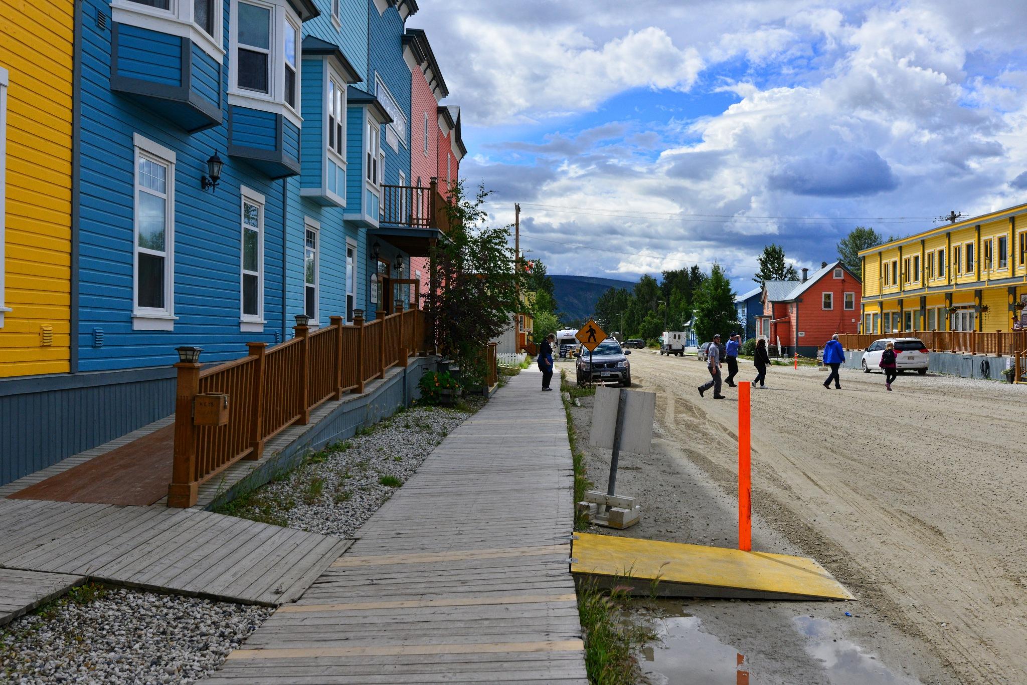 Dawson City, Yukon by Dr Martin Wenzel