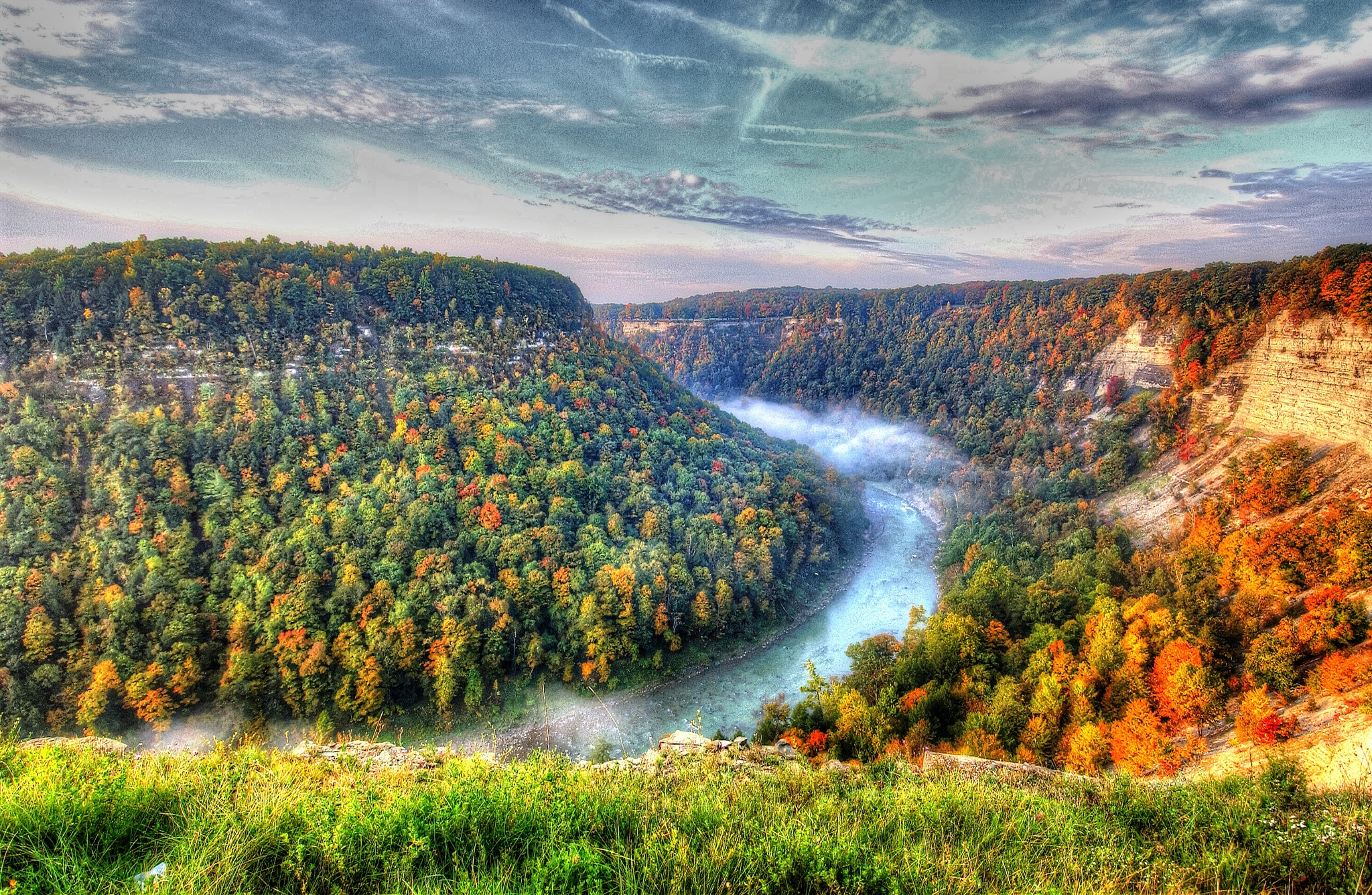 Letchworth State Park, NY by Dr Martin Wenzel