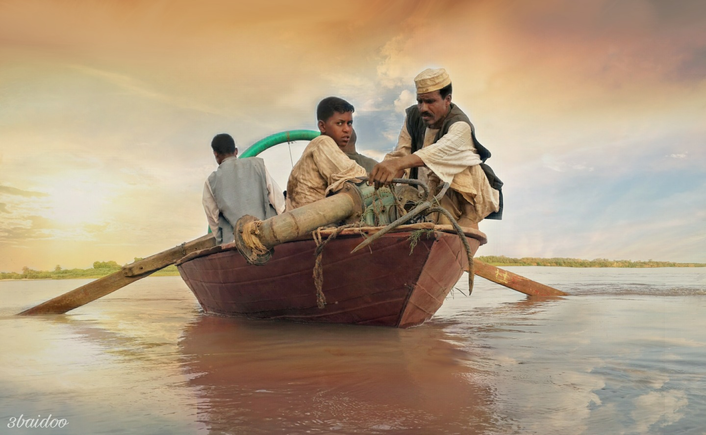 Returnees from the Nile by Ebaidoo