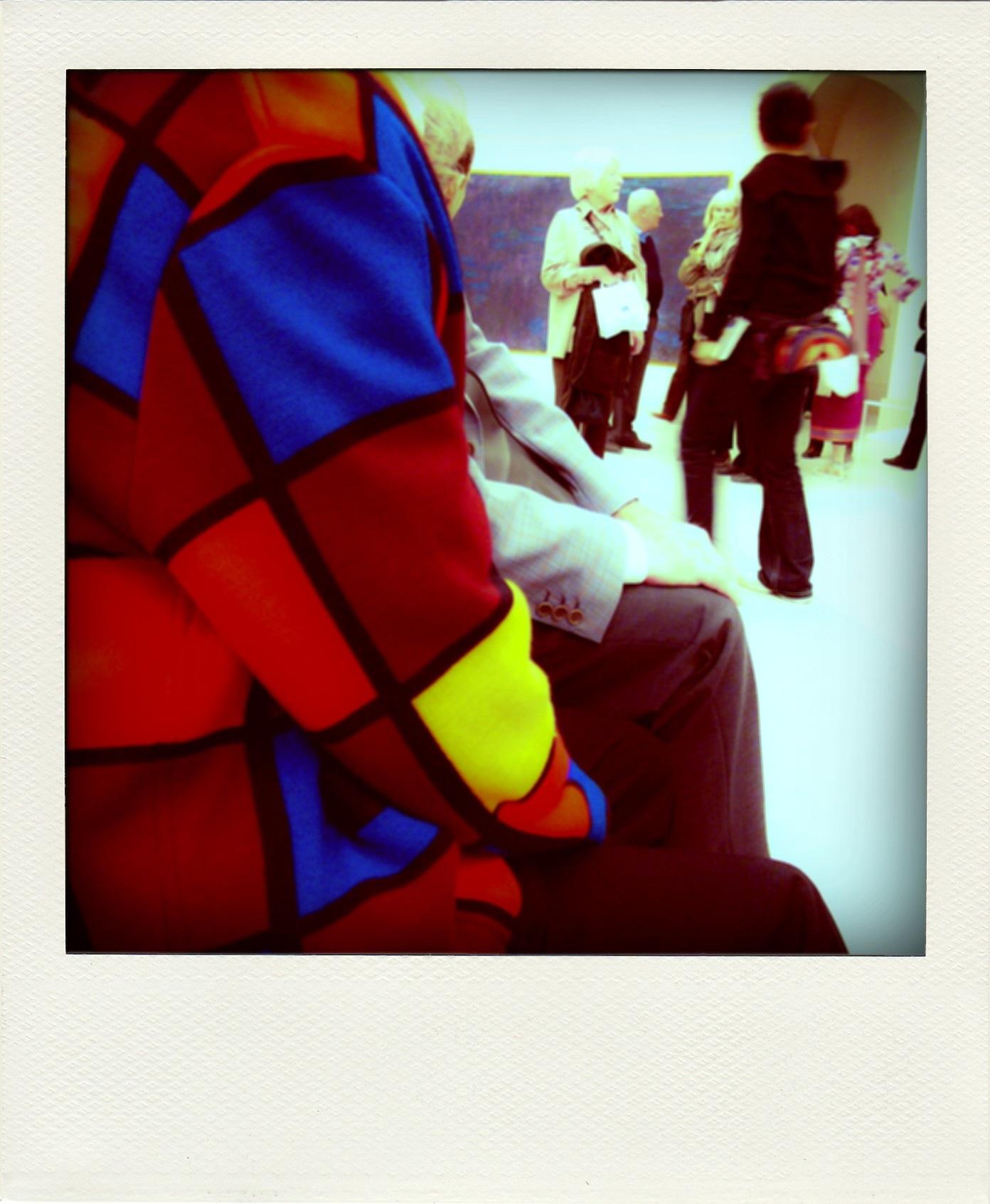 Museum Polaroid by Pedro Paulo