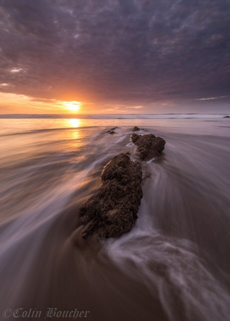 Just before sunset by Colin Boucher