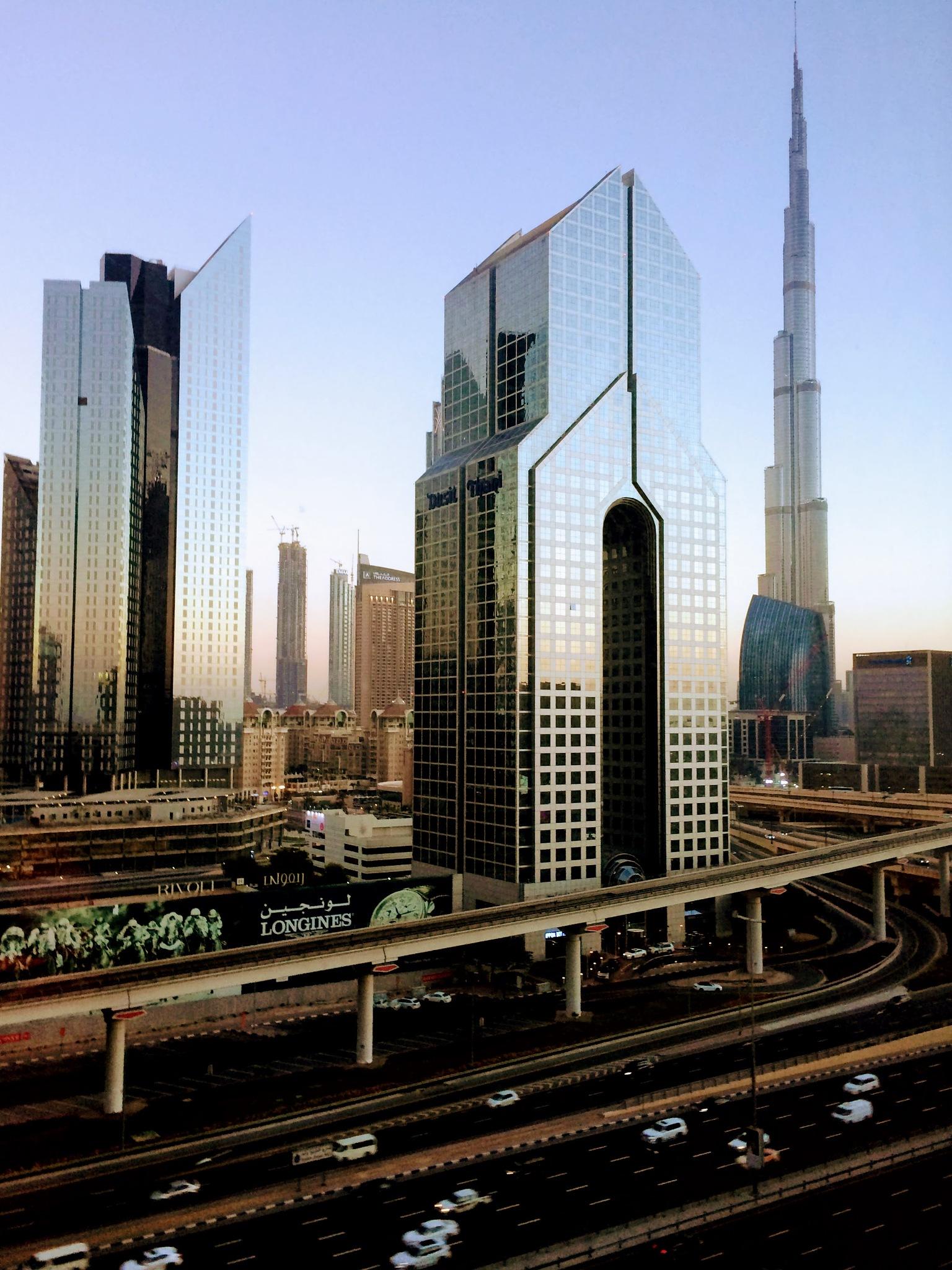 Beautiful Dubai by Bishoy Fekry