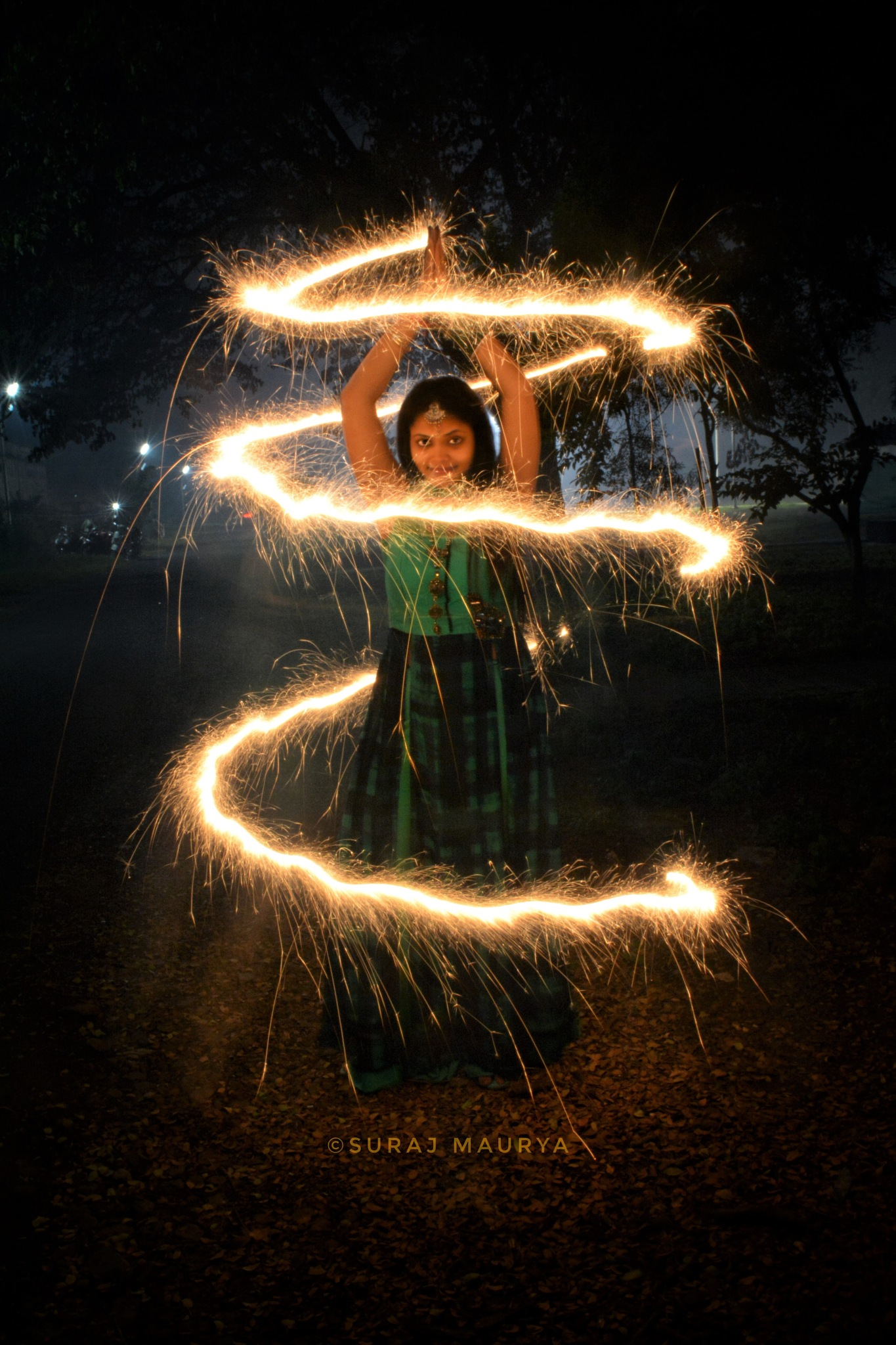 Be the light.. a spiral one by Suraj Maurya