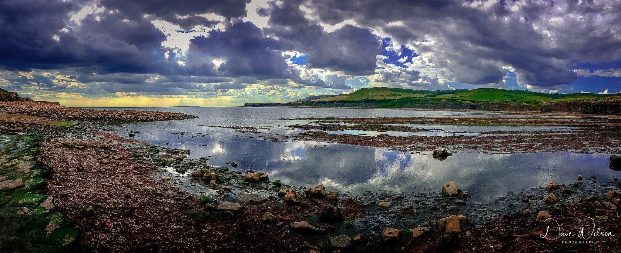 Kimmeridge Bay  by Dave Wilson