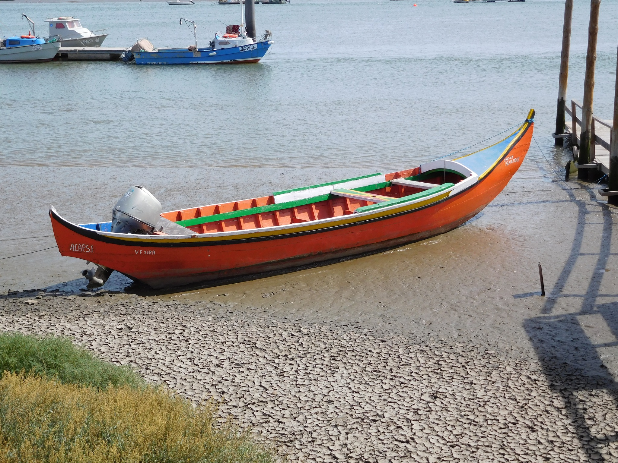 Small fishing boat by Luso