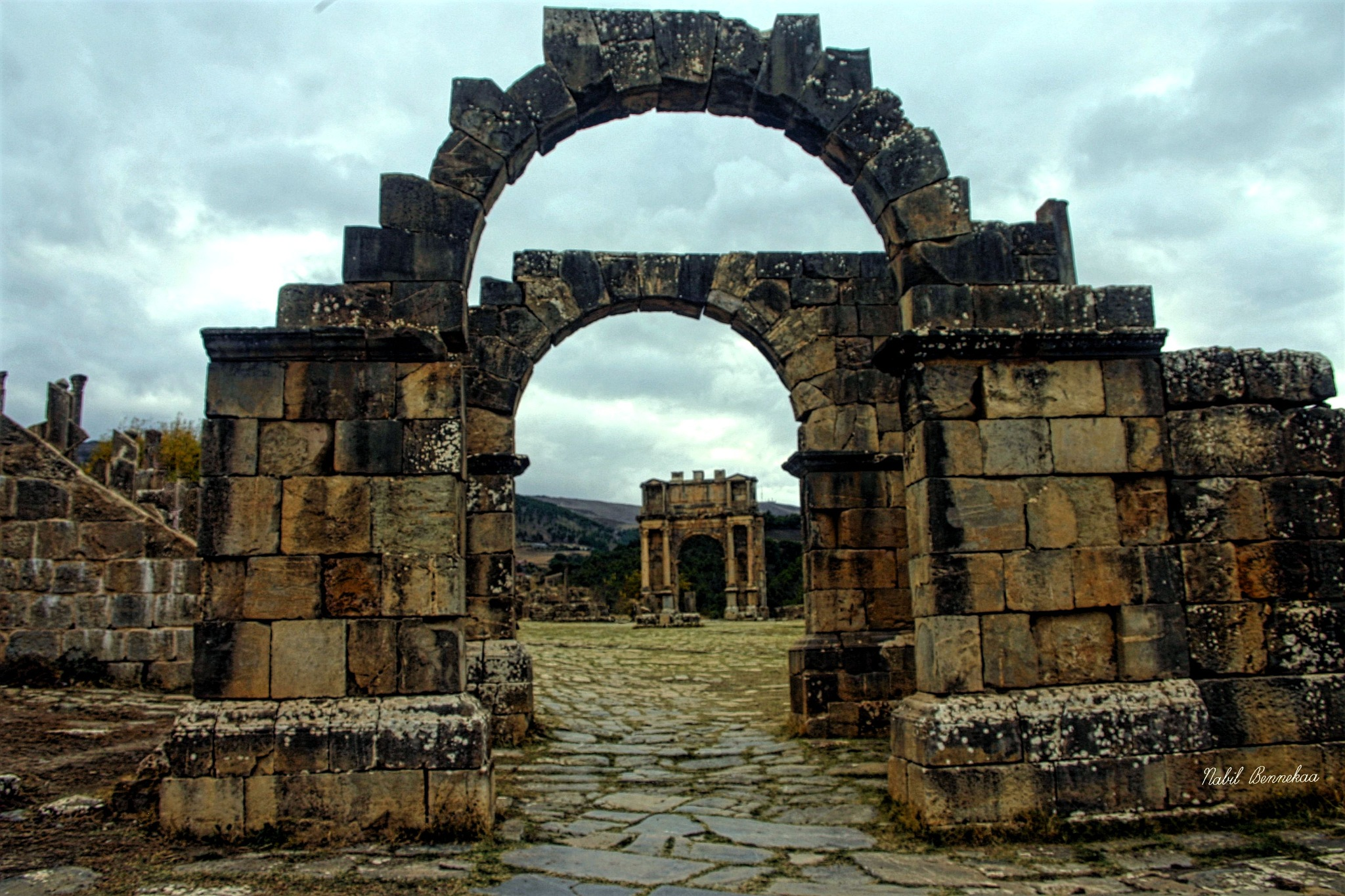 The Roman ruins are beautiful.2 by Nabil Nabil