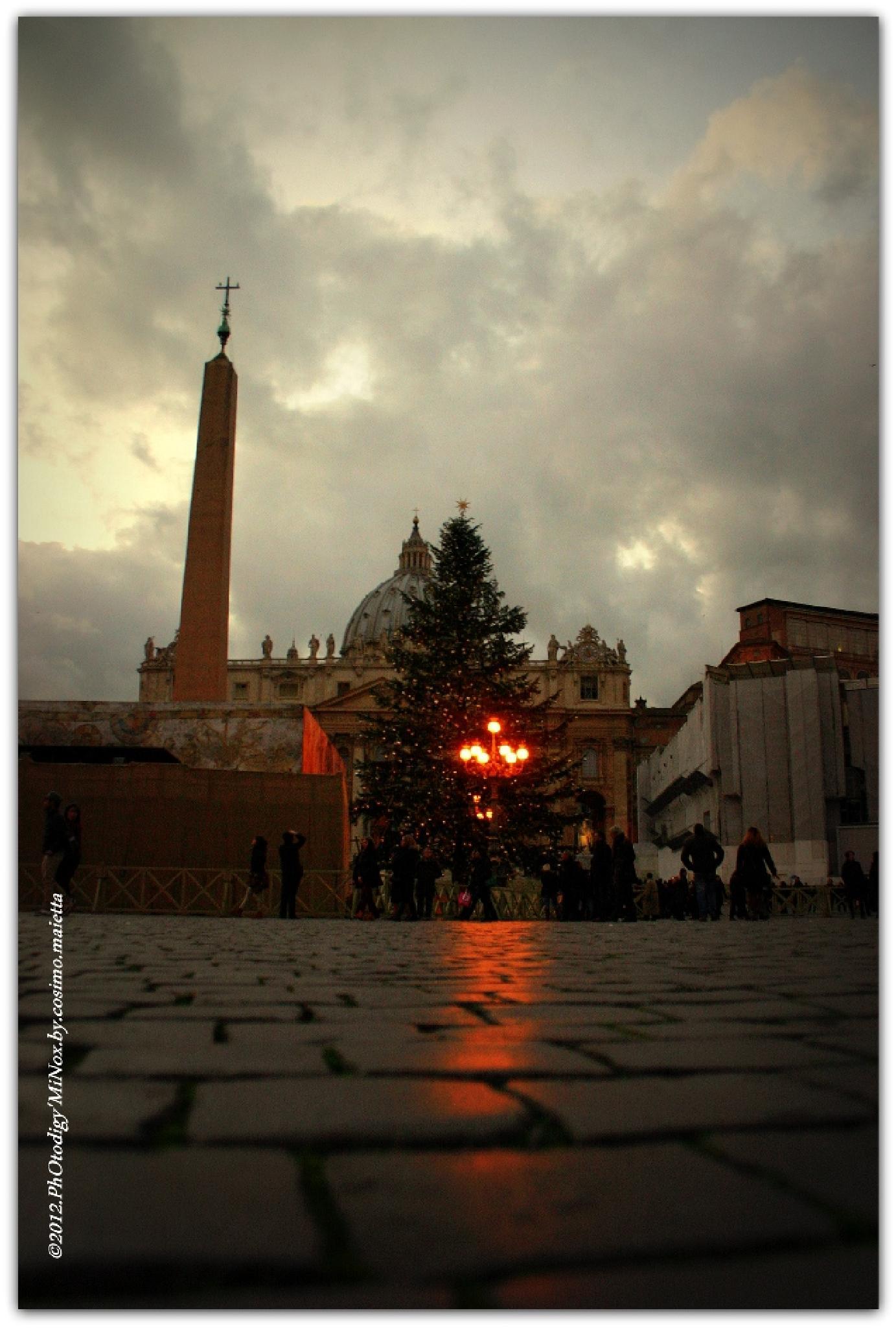 St. Peter's Square by Ph.Dg.Mi. cosimo maietta