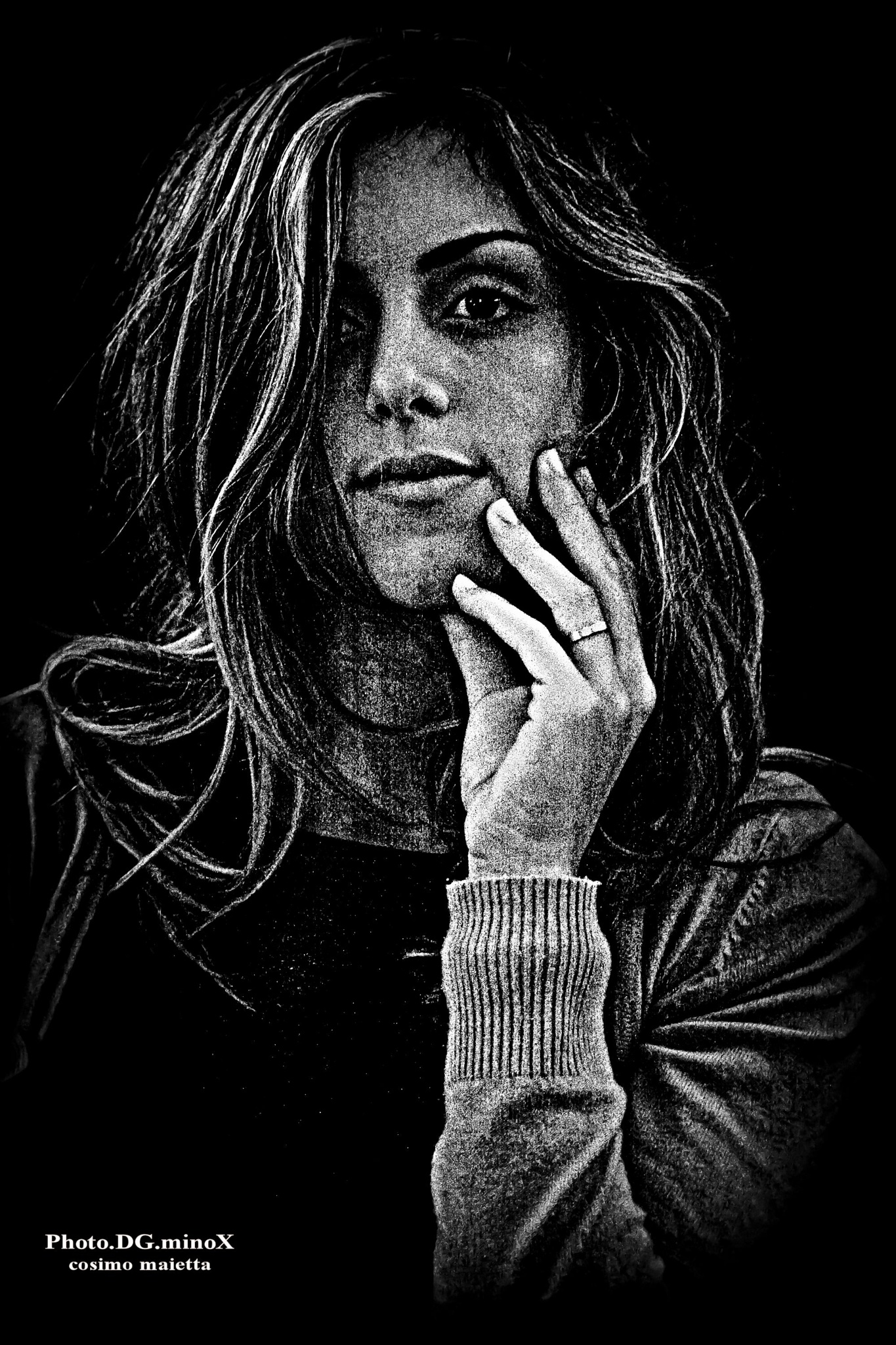 black and white by Ph.Dg.Mi. cosimo maietta