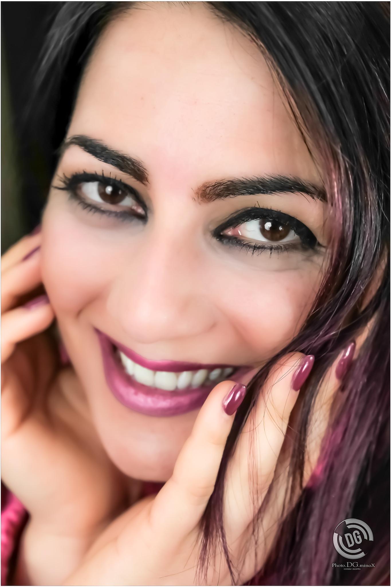 make-up by Ph.Dg.Mi. cosimo maietta