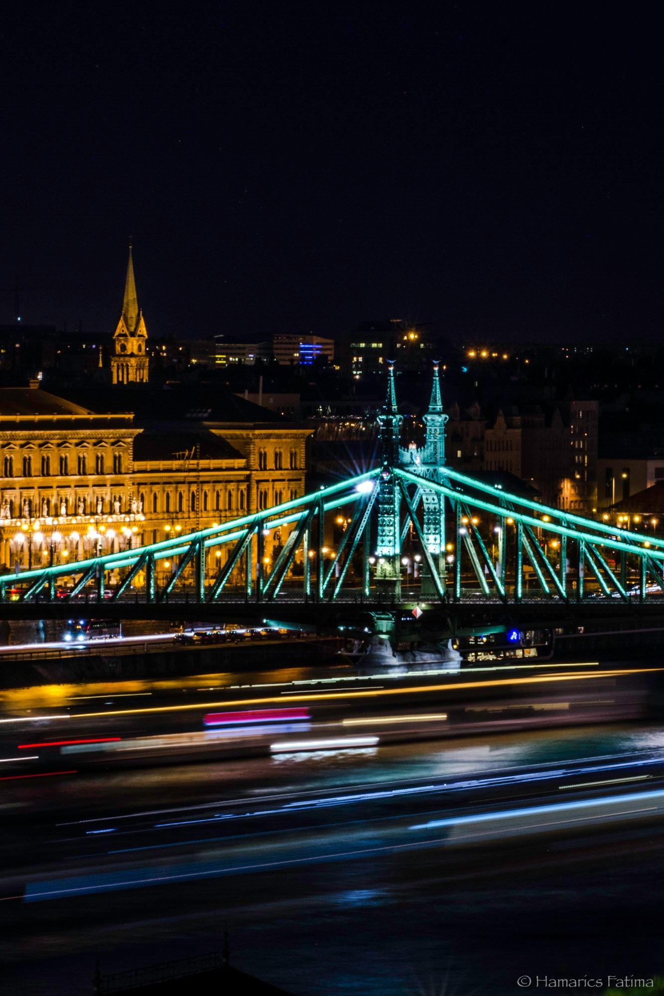 Traffic under the bridge by Fatima Hamarics