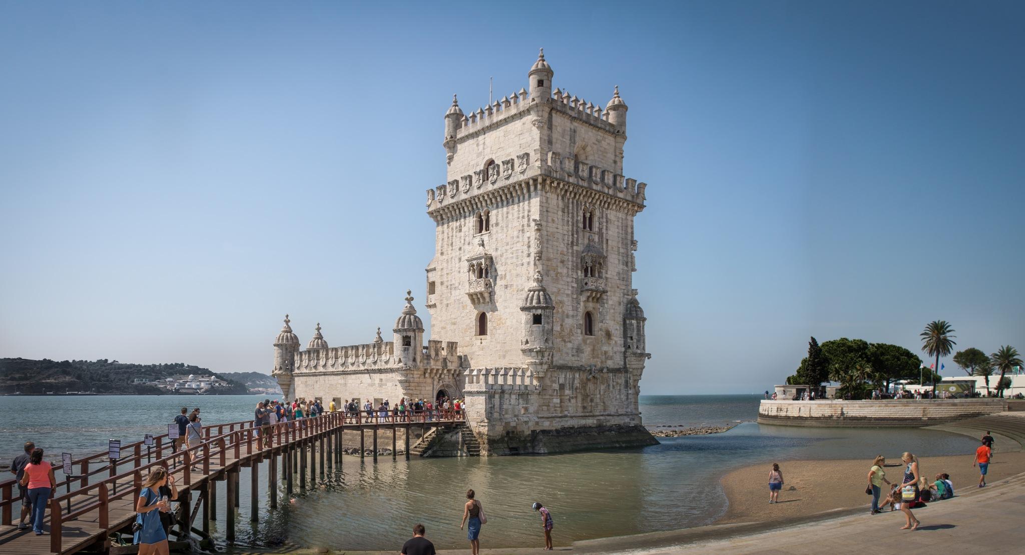 Lisbon Portugal, Torre de Belem by Christian Hofmann