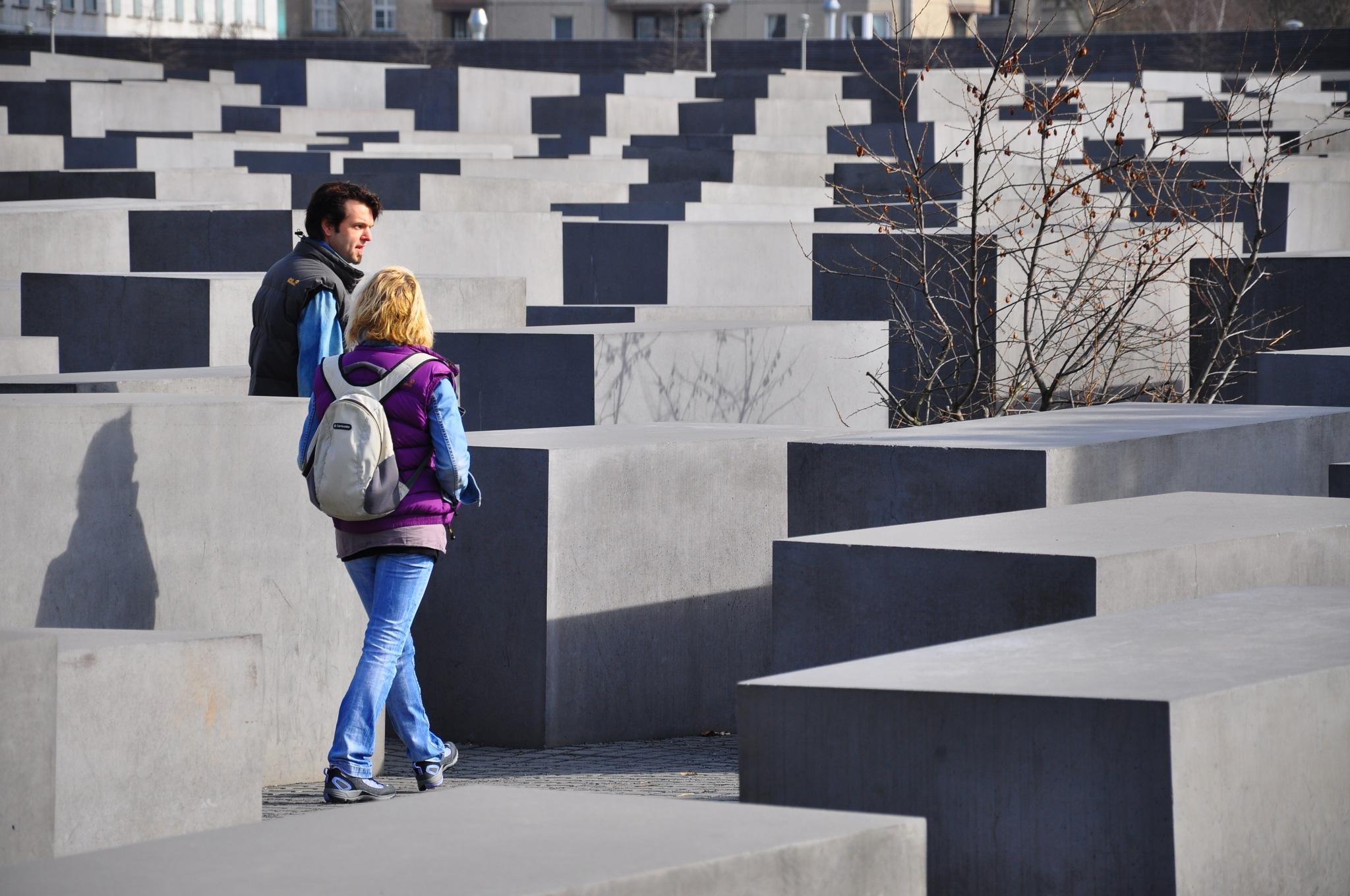 Berlin Holocaust Monument by Christian Hofmann