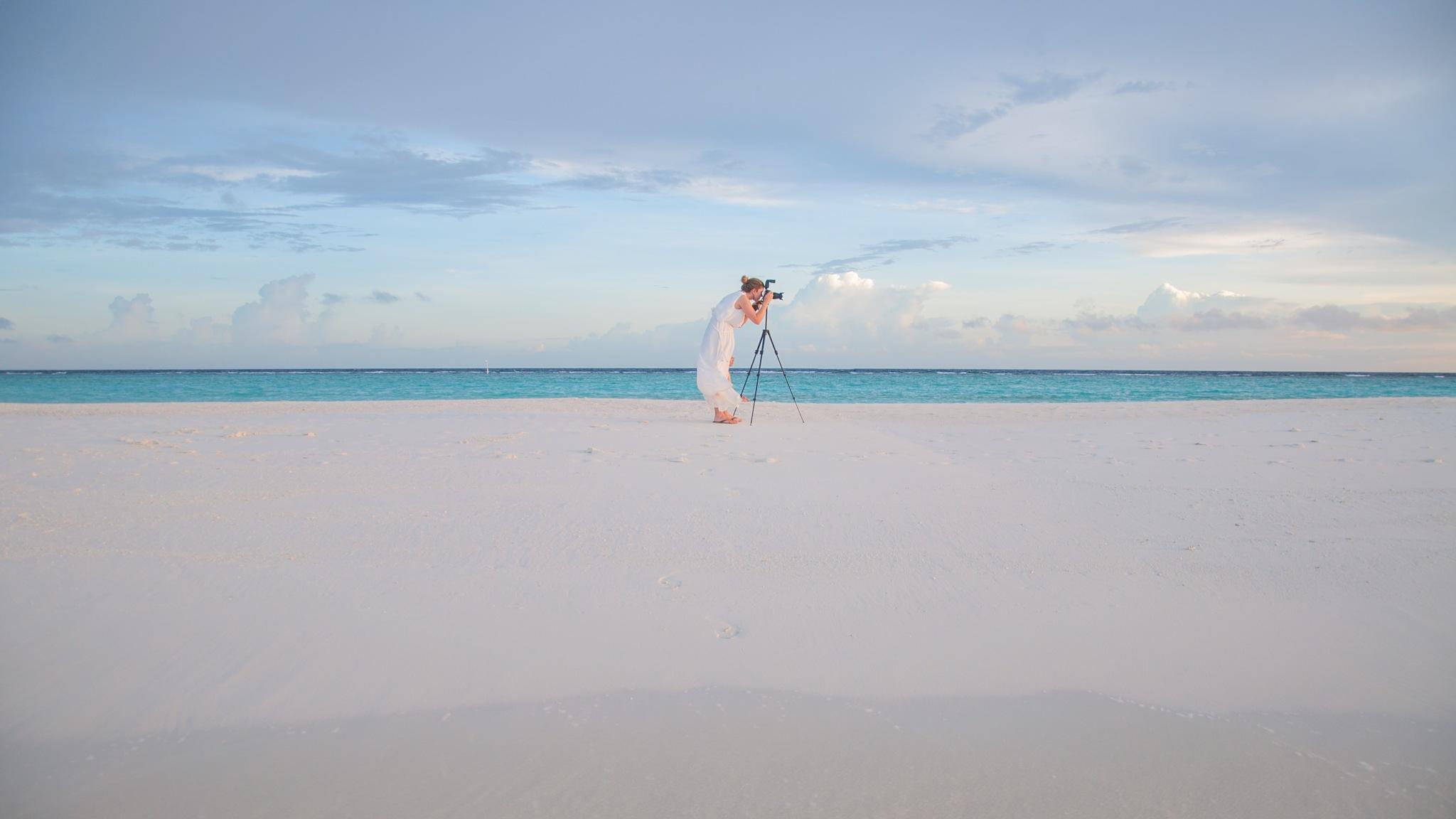Maldives photographer by Christian Hofmann
