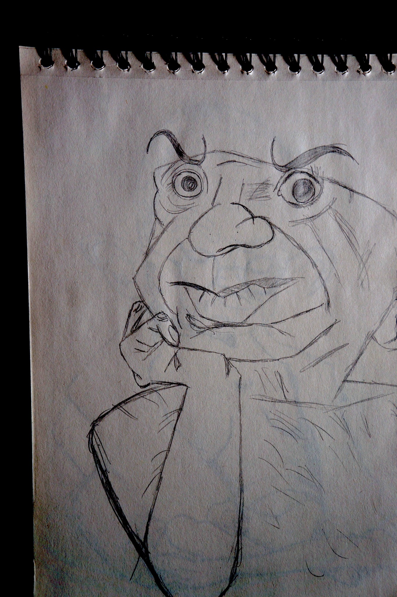 Picasso (sketch) by Kmilo