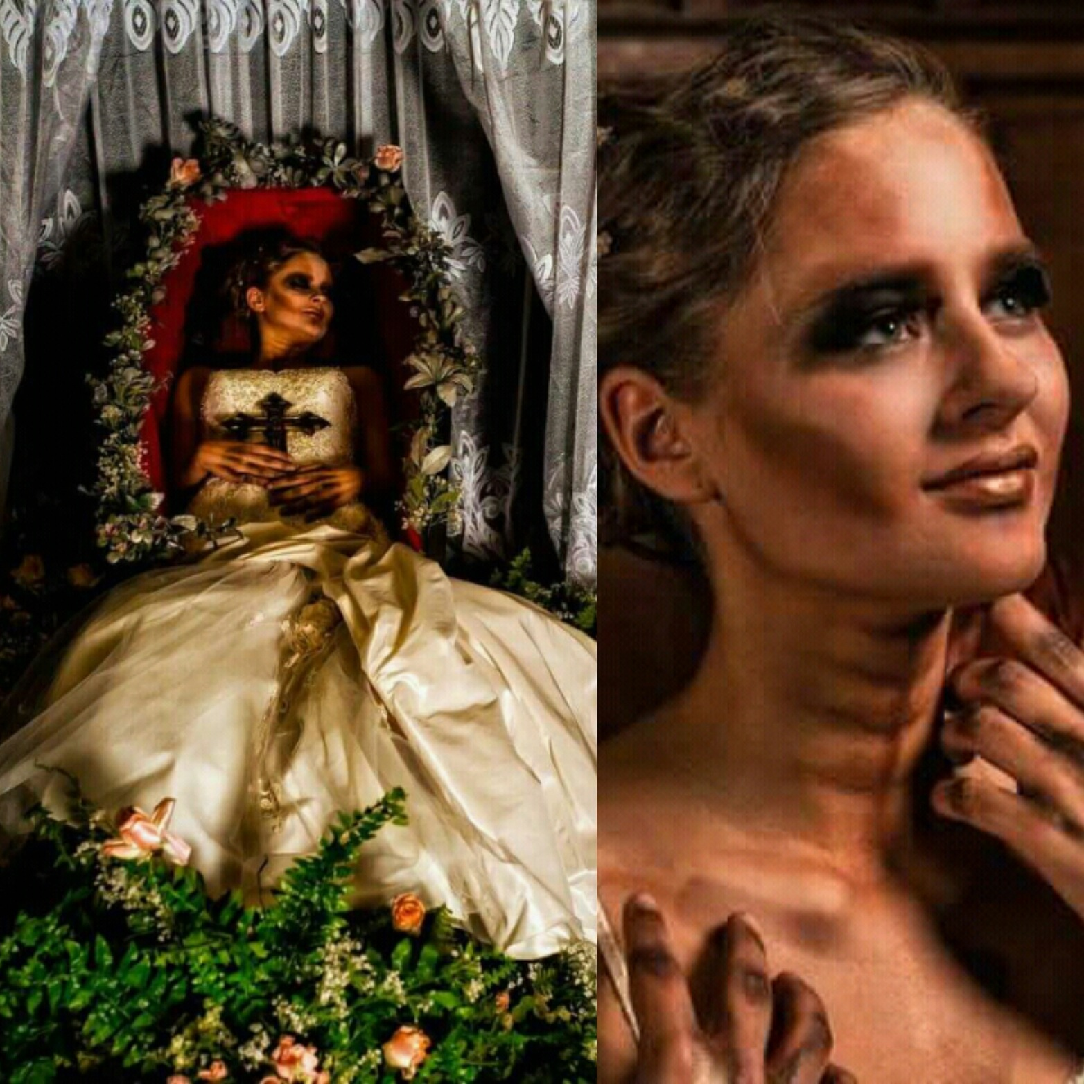 Extreme make up .. beautyful Halloween  by Mua Sterre Maan