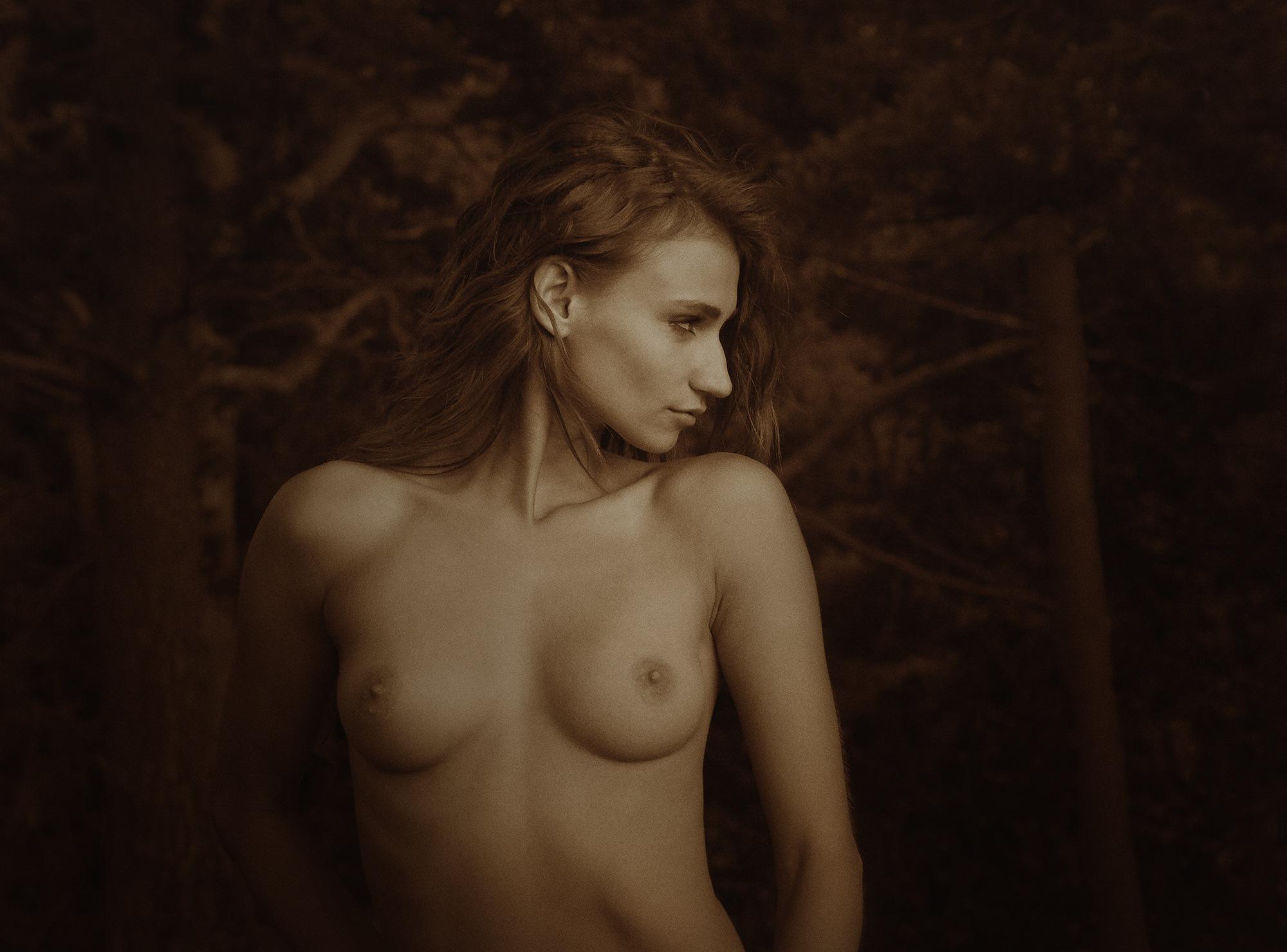 Portrait Ilvy by Arnis Krumins