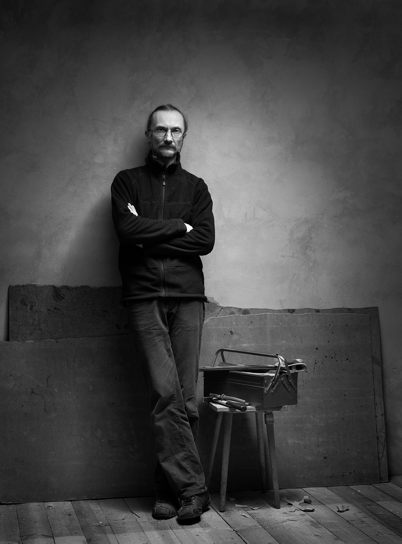 self-portrait by Arnis Krumins