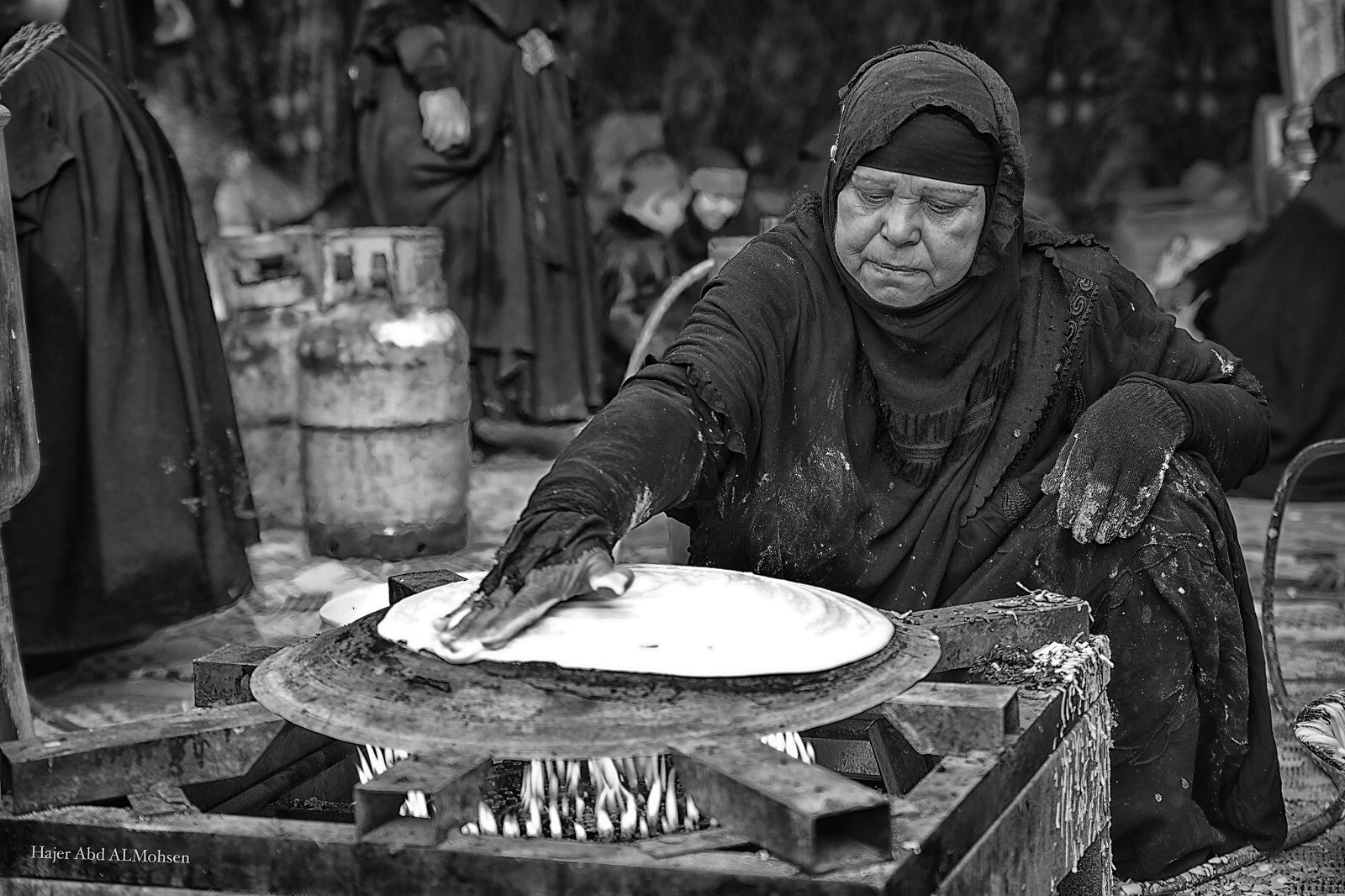 Prepare bread by Hajer Abd Almohsen