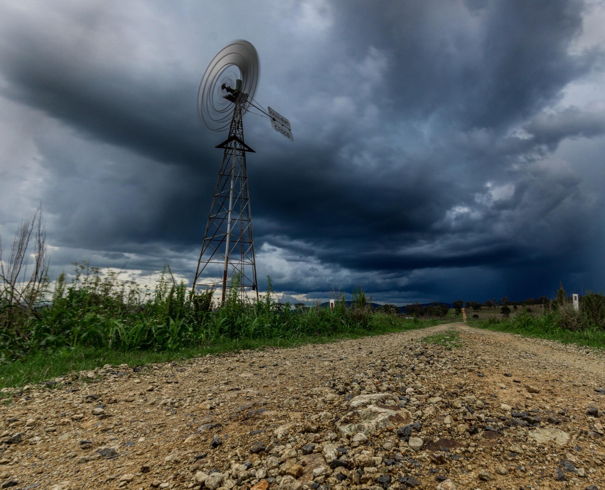 Windmill  by Jenna