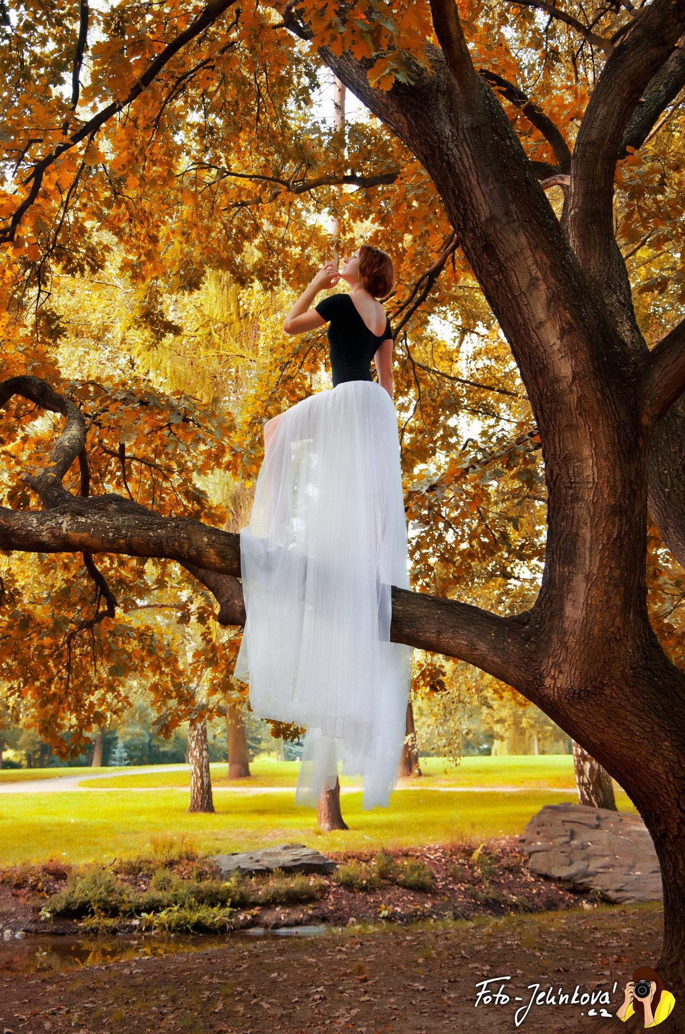 Tree girl by Jana Jelínková