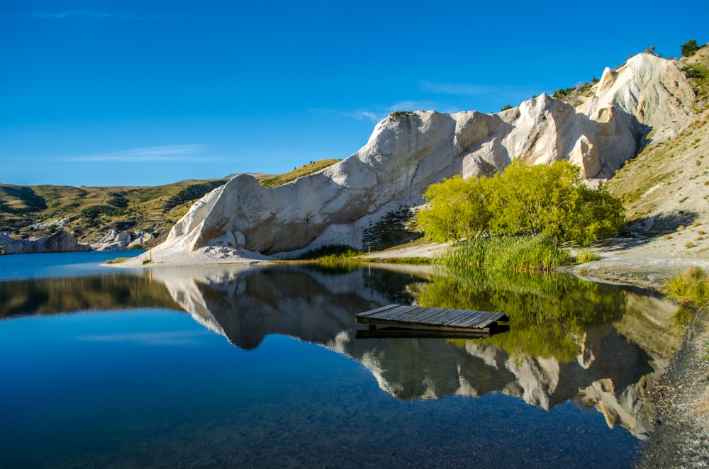 Blue Lake. by Aaron Herron