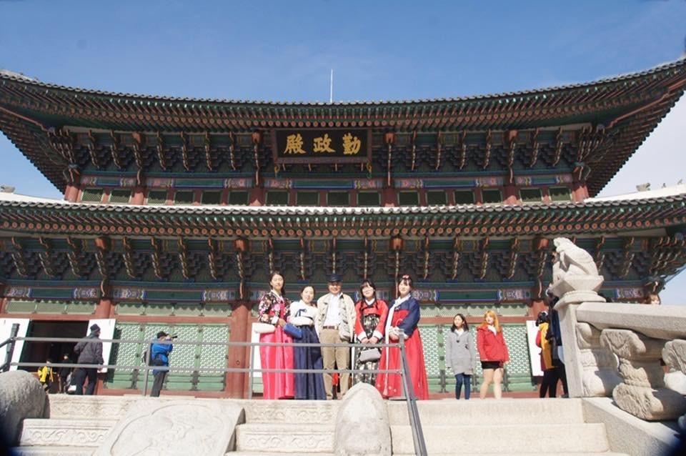 Gyeongbokgung Cảnh Phúc Cung  Seoul by quan0709