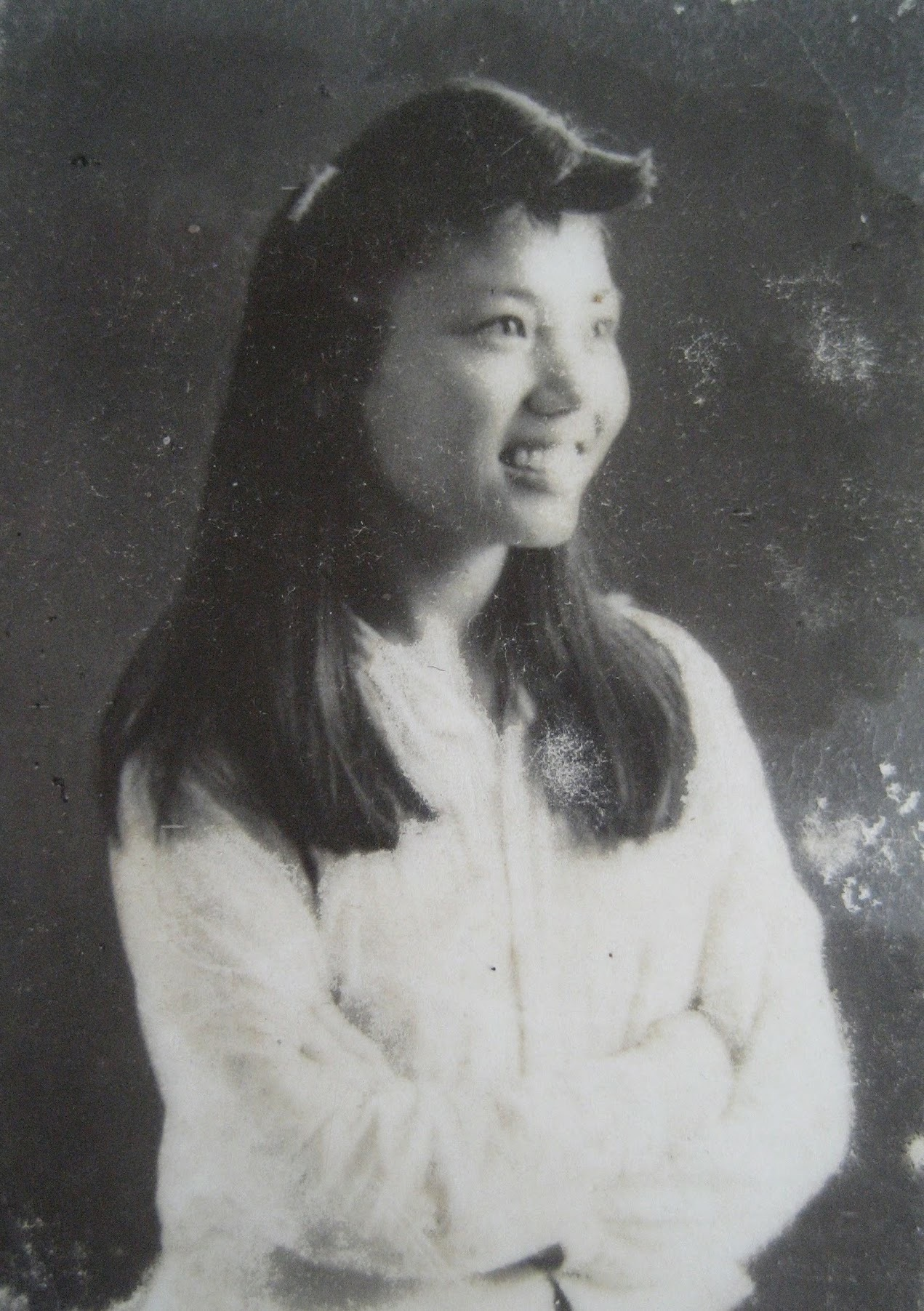 My mother in 1950 by quan0709