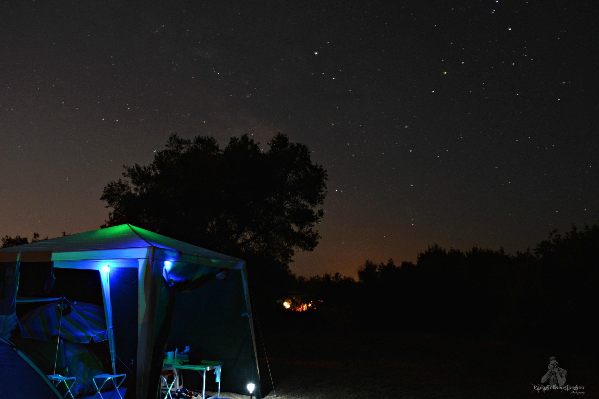 Under the stars by Panagiotis Ketikoglou