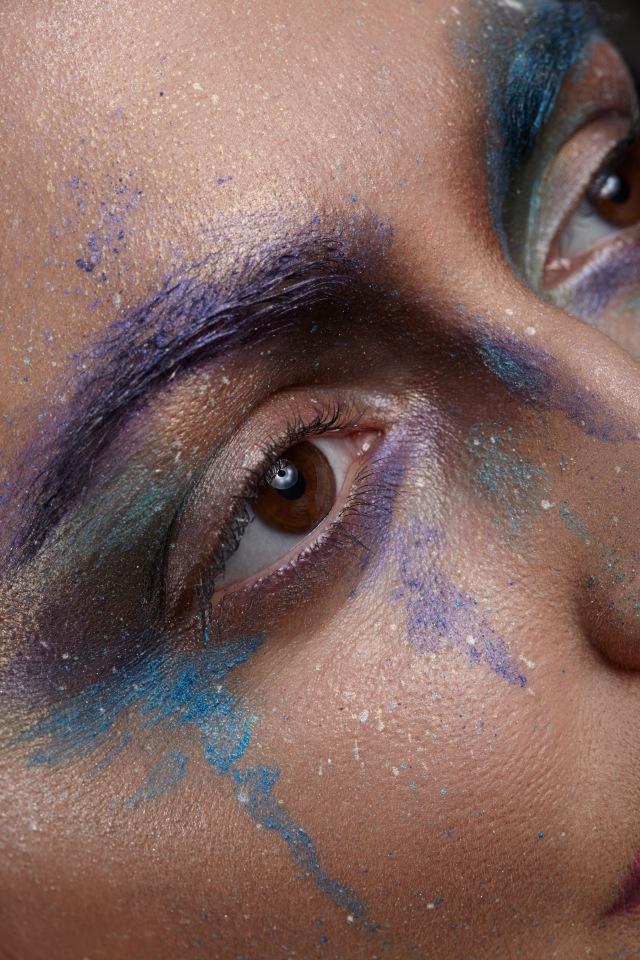 Macro beauty creative makeup by agaimach