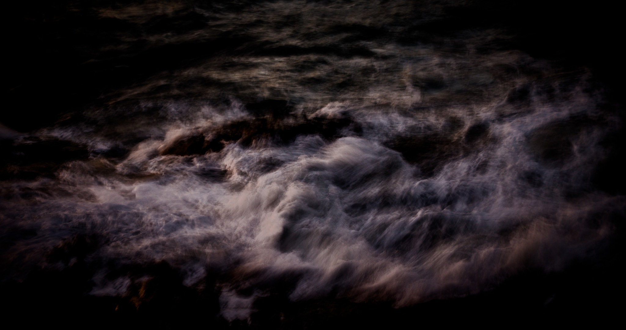 Wave at dusk by Andrew Manning
