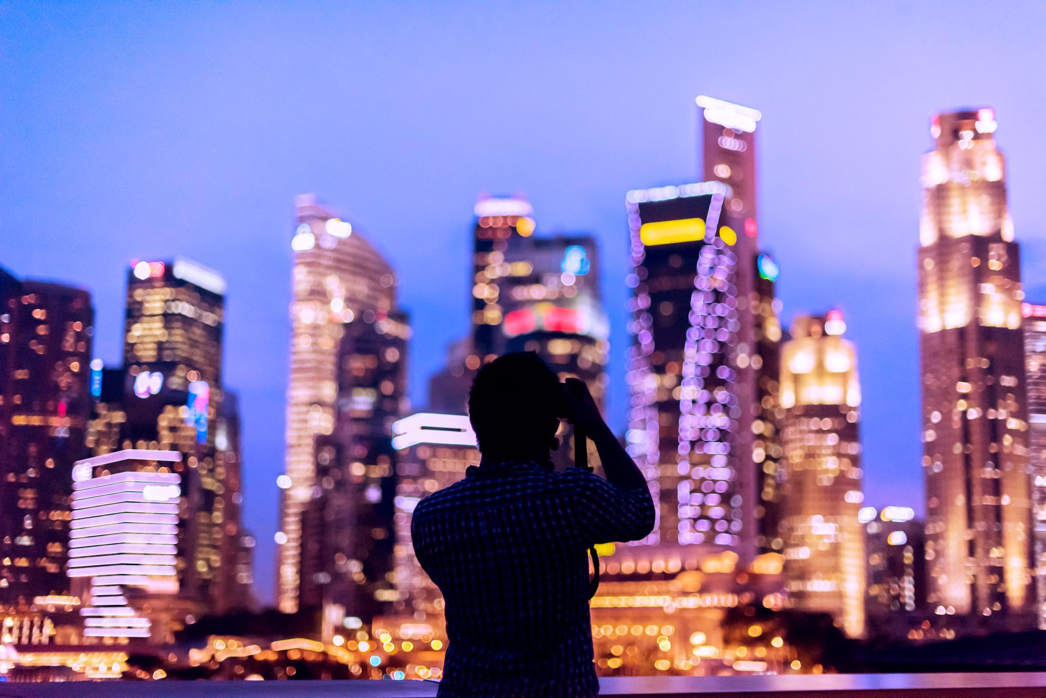 Beautiful Singapore in Bokeh by RandyTan Travelogue