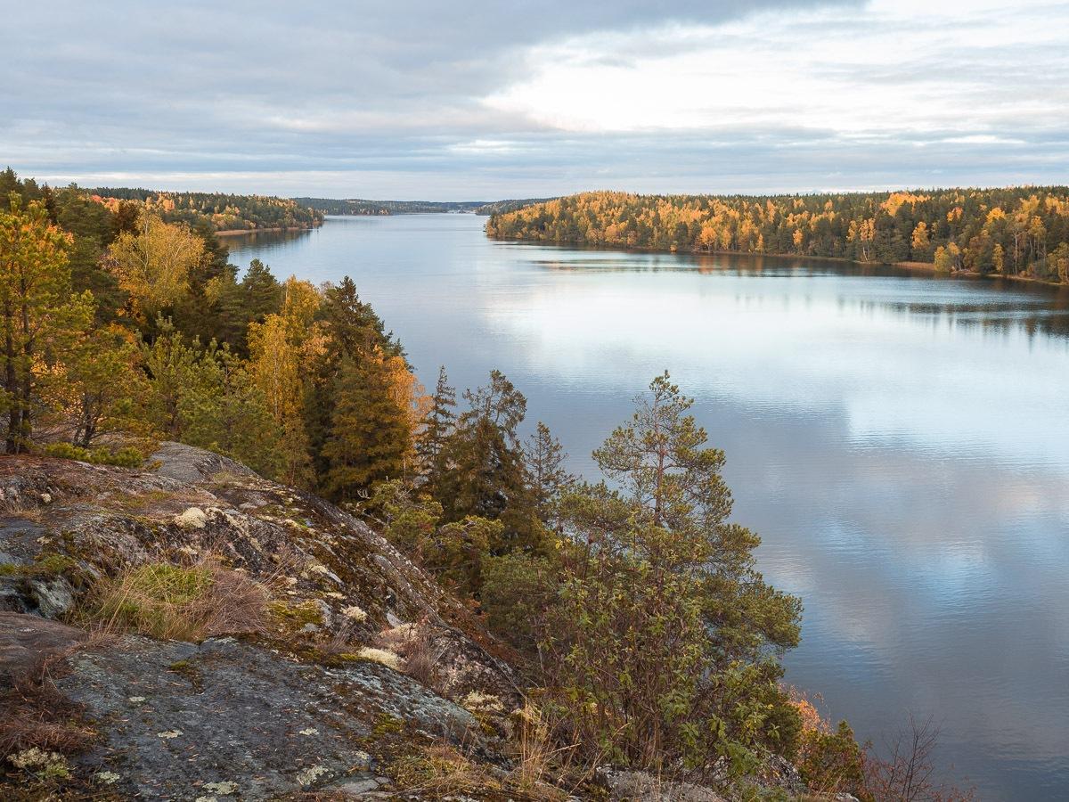 Autumn at Rankhus by Örjan Wahlund