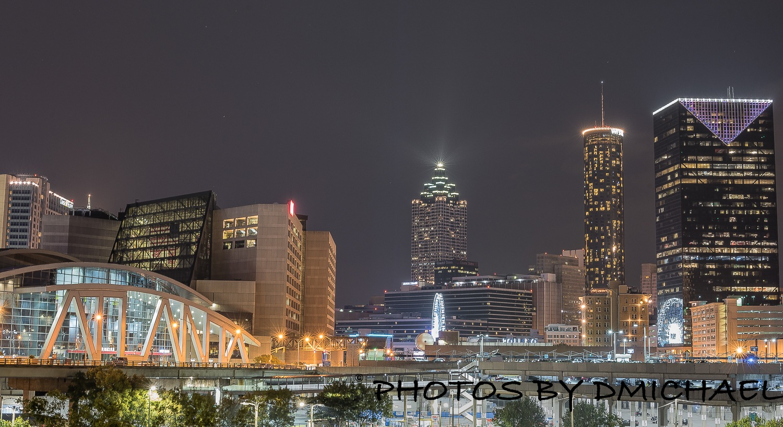 Downtown Atlanta by Devine Michael Clayton