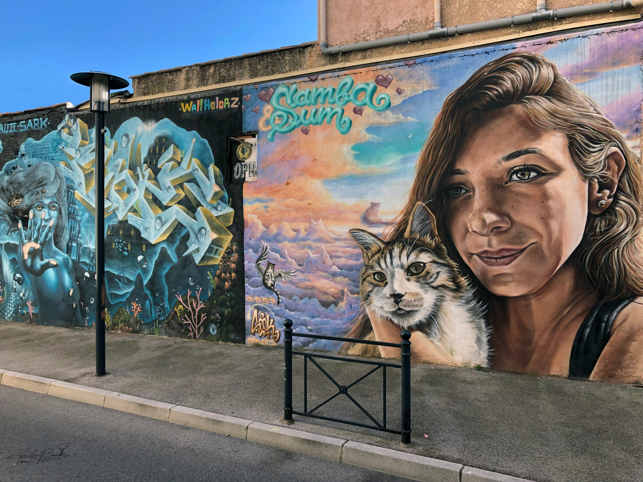 Graffiti... by Jean-Marc Bonello