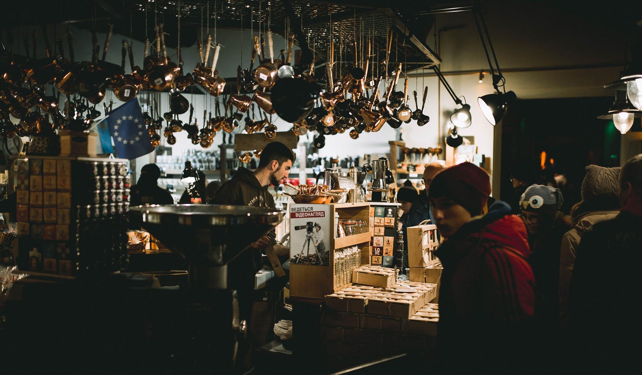 Lviv - coffee shop  by seyrior