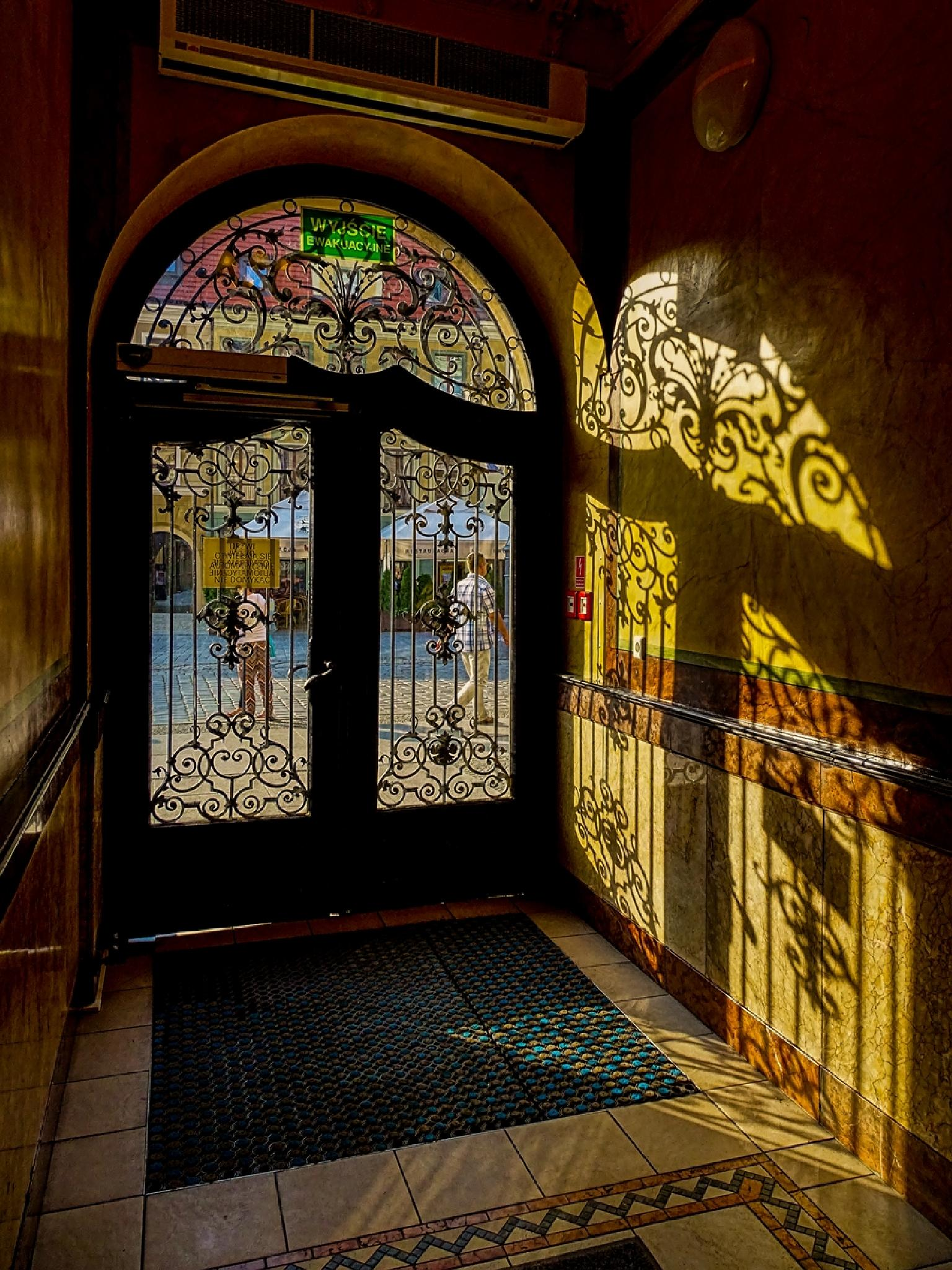 Gate by Waldemar Sadlowski