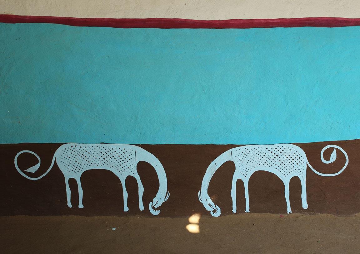 Tribal art by Kishan Meena
