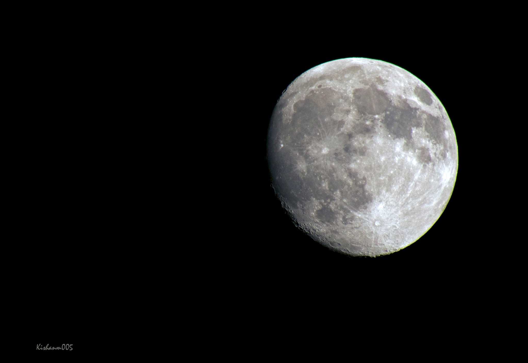 Moon by Kishan Meena