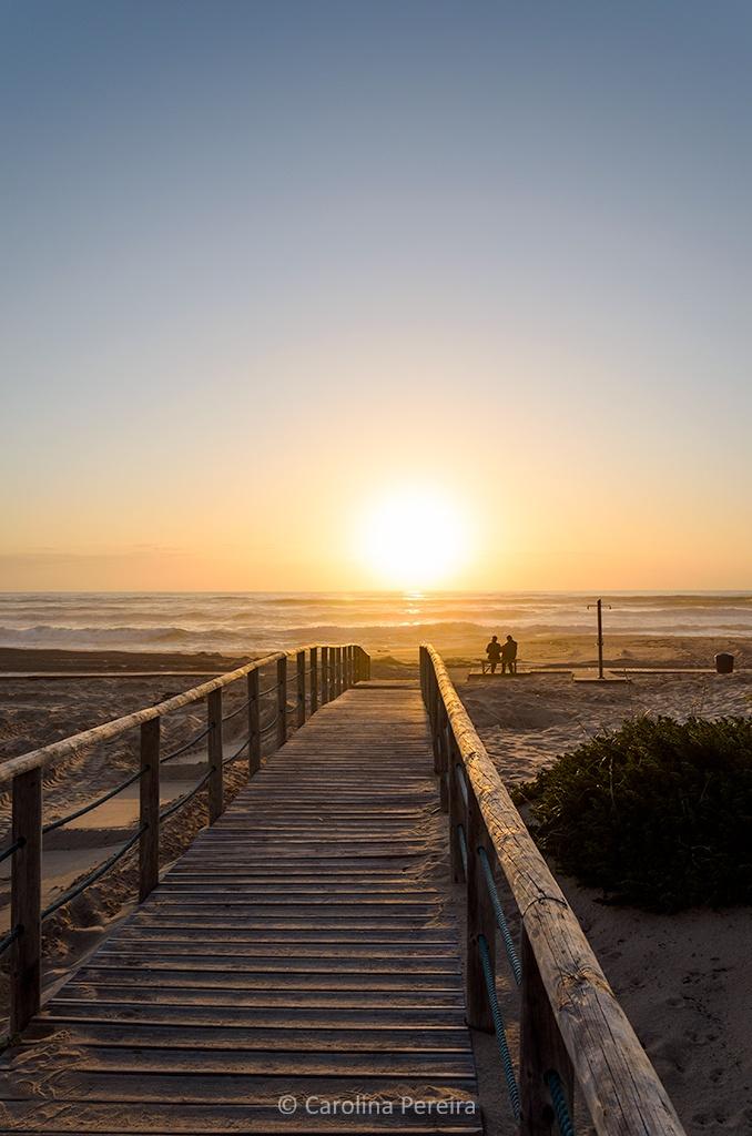 Enjoying the Sunset by Carolina Pereira