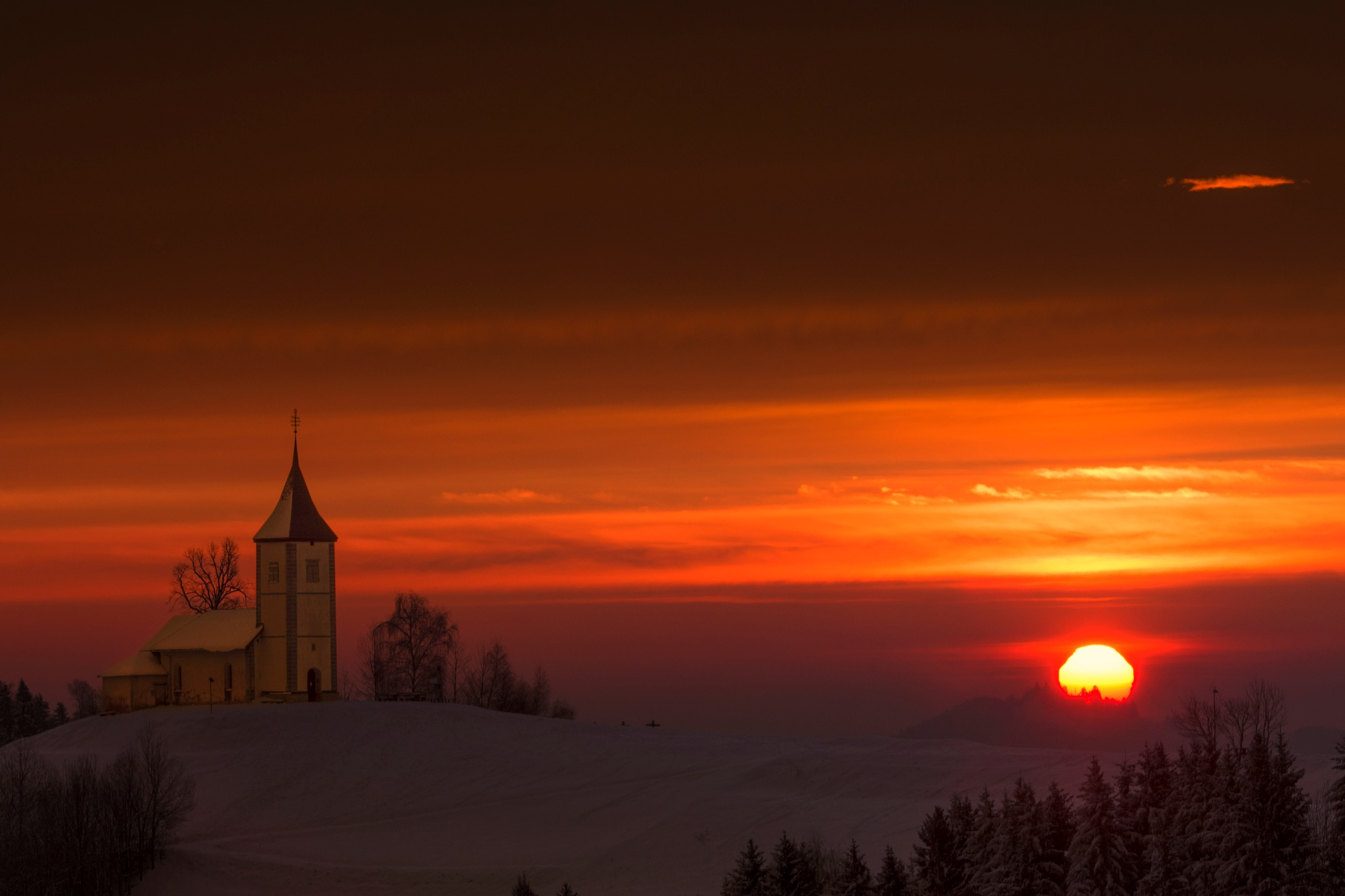 Saints Primus and Felician Church by Beno Medic