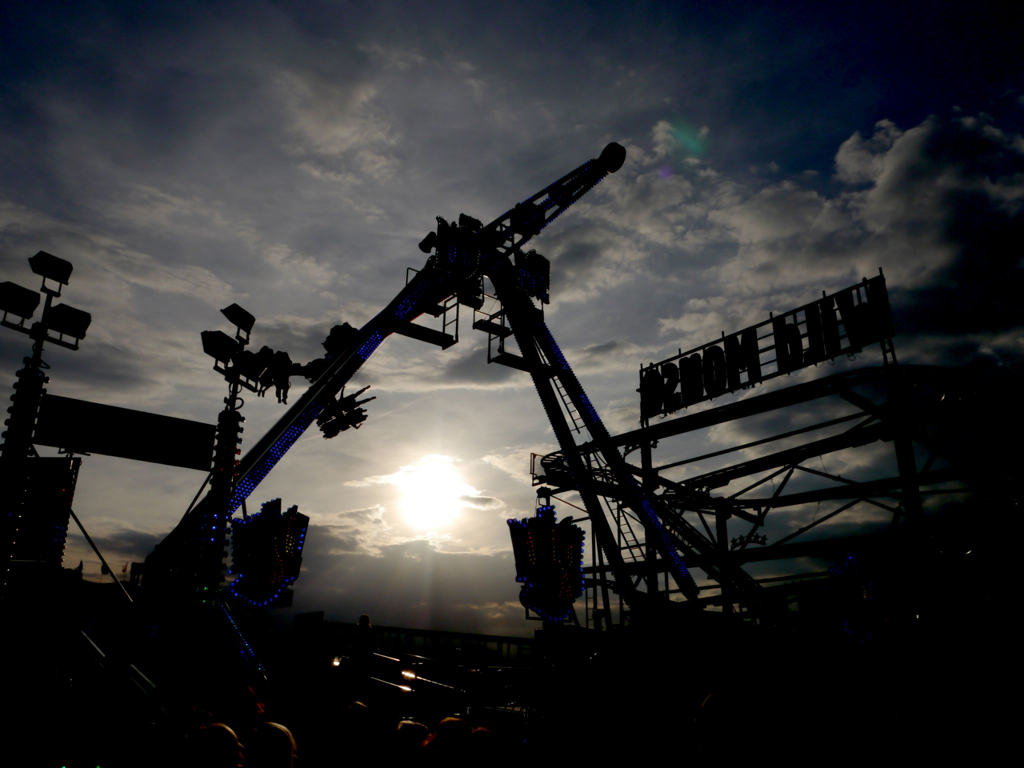 Sun and the Hoppings 2014  by Darren Turner