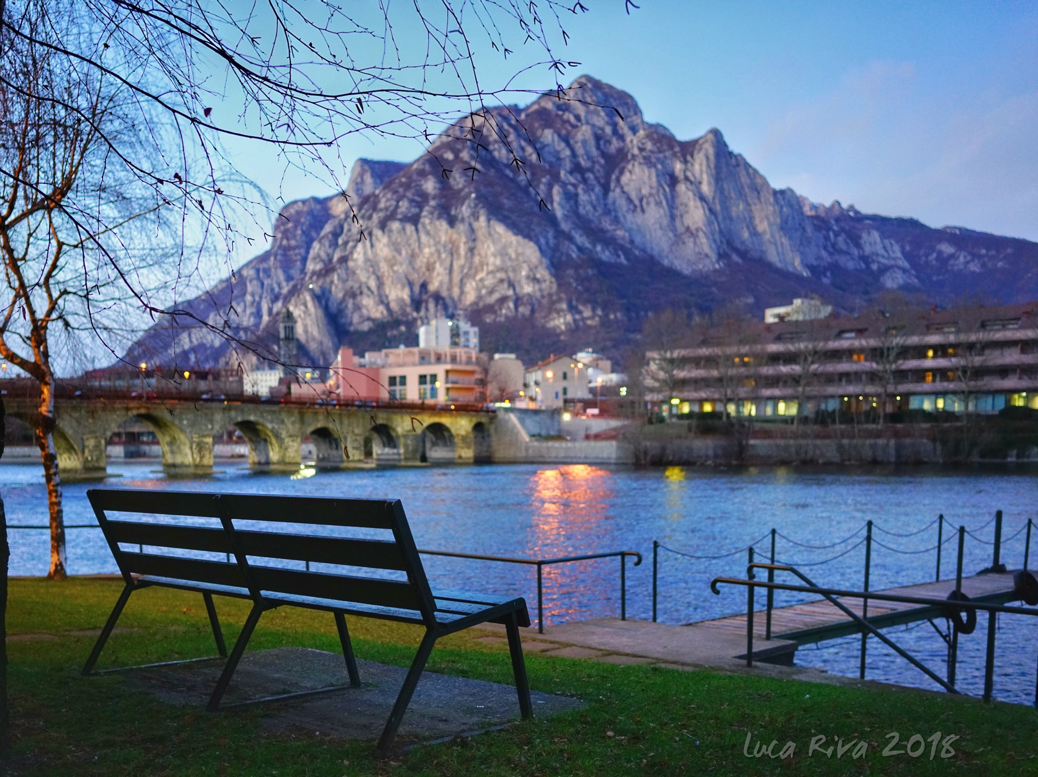 The bench by Luca Riva