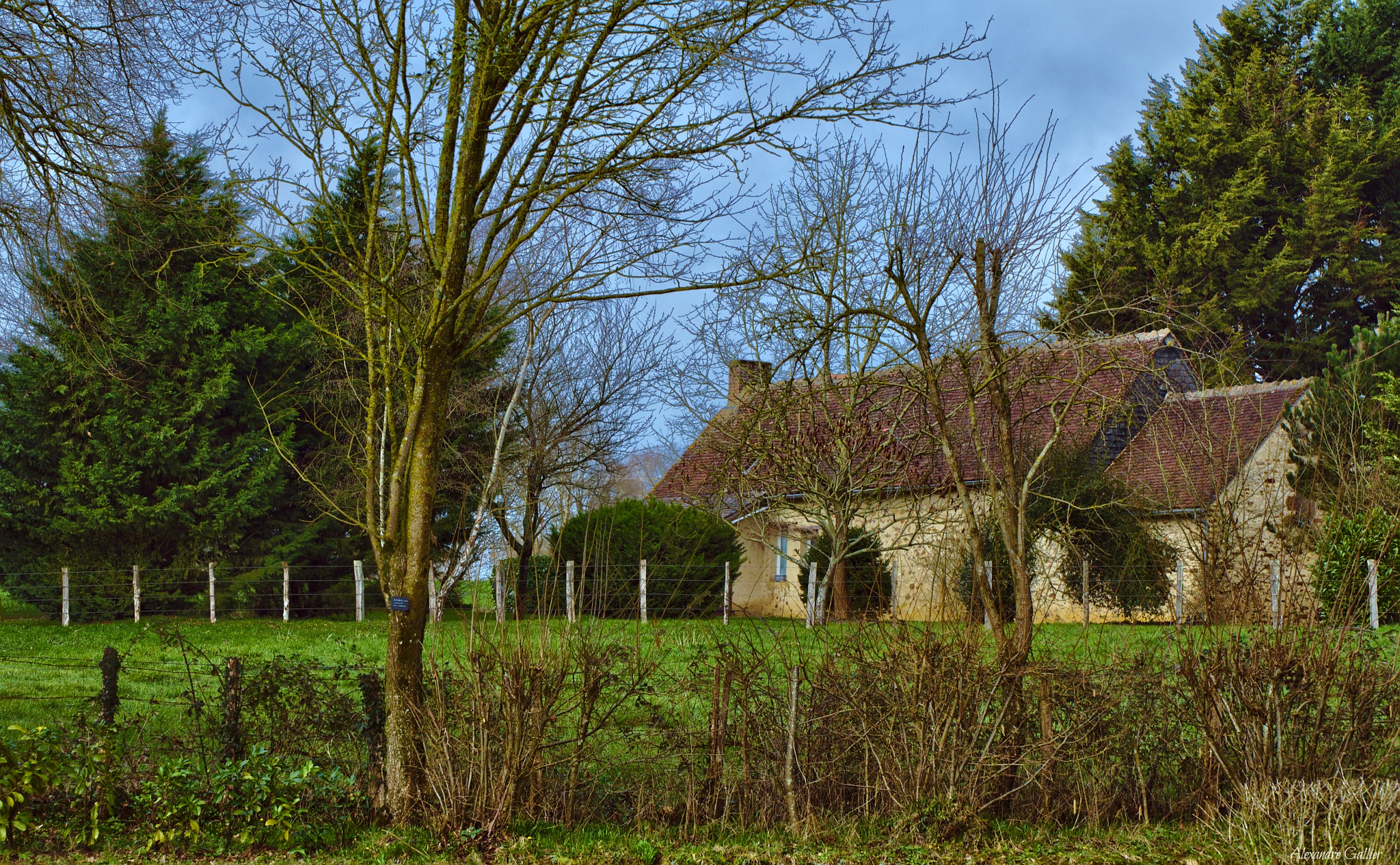French countryside by Alexandre Gallier